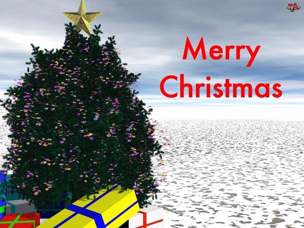 prezenty, Boże Narodzenie, choineczka