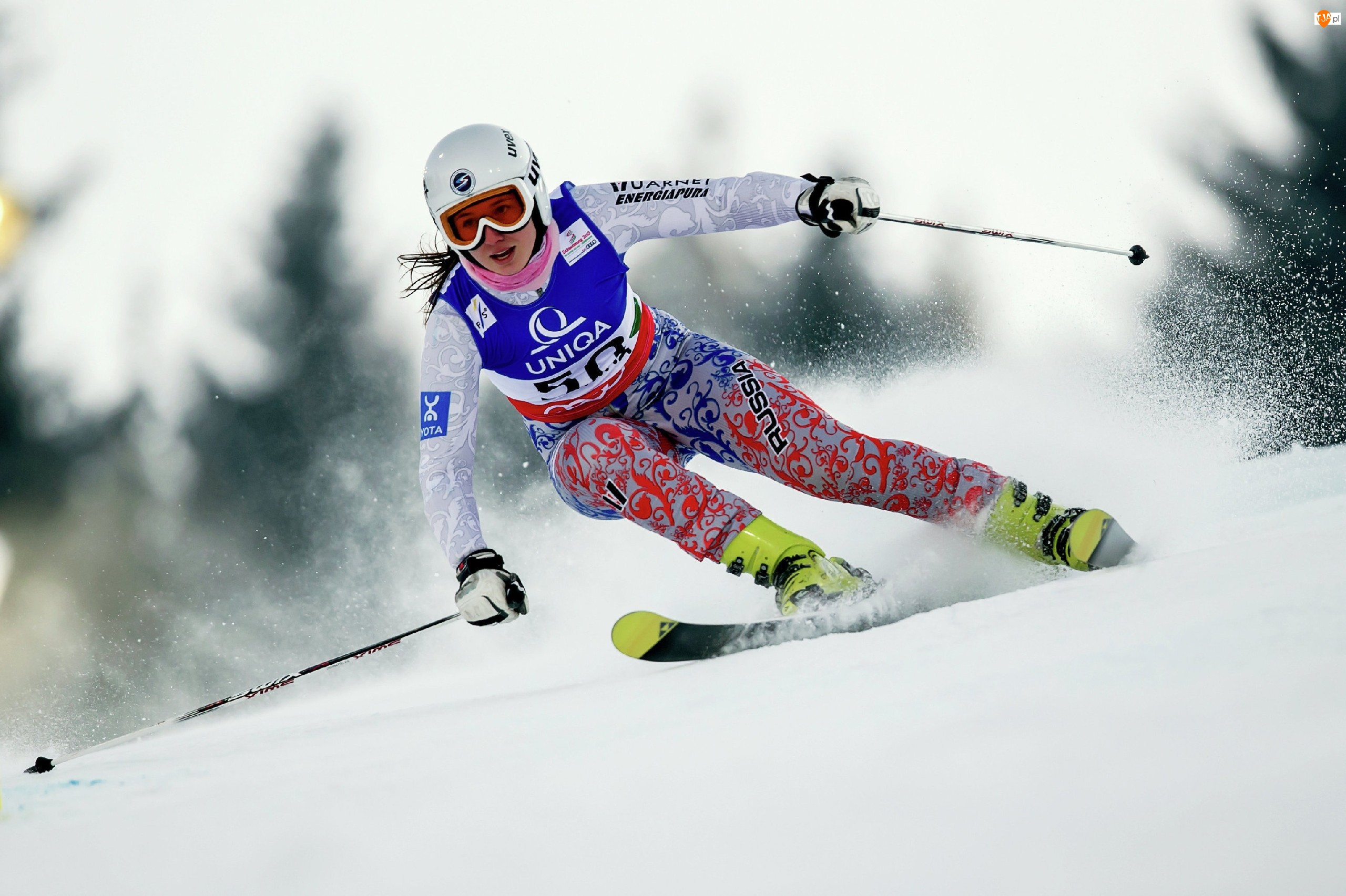 Kobieta, Olimpiada, Narciarka, Sochi 22014