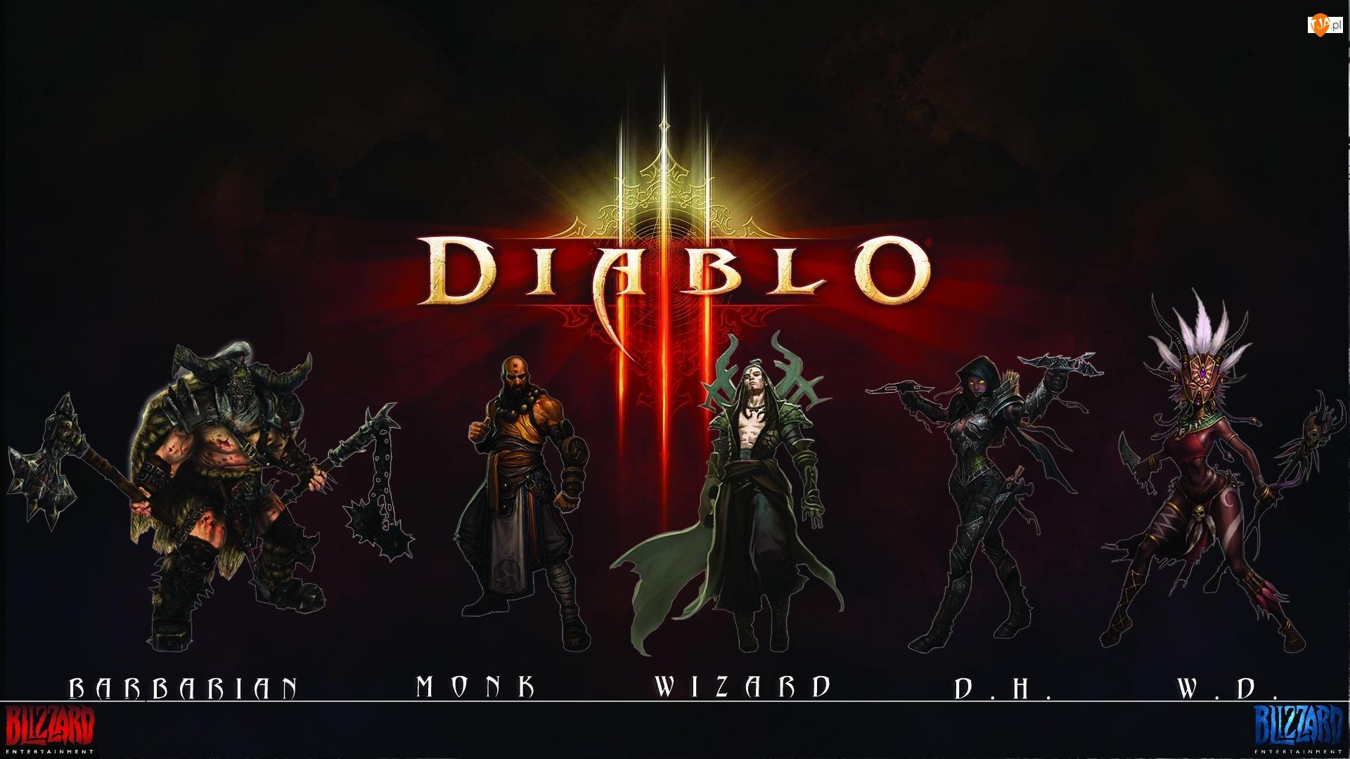 Wizard, Diablo 3, Monk