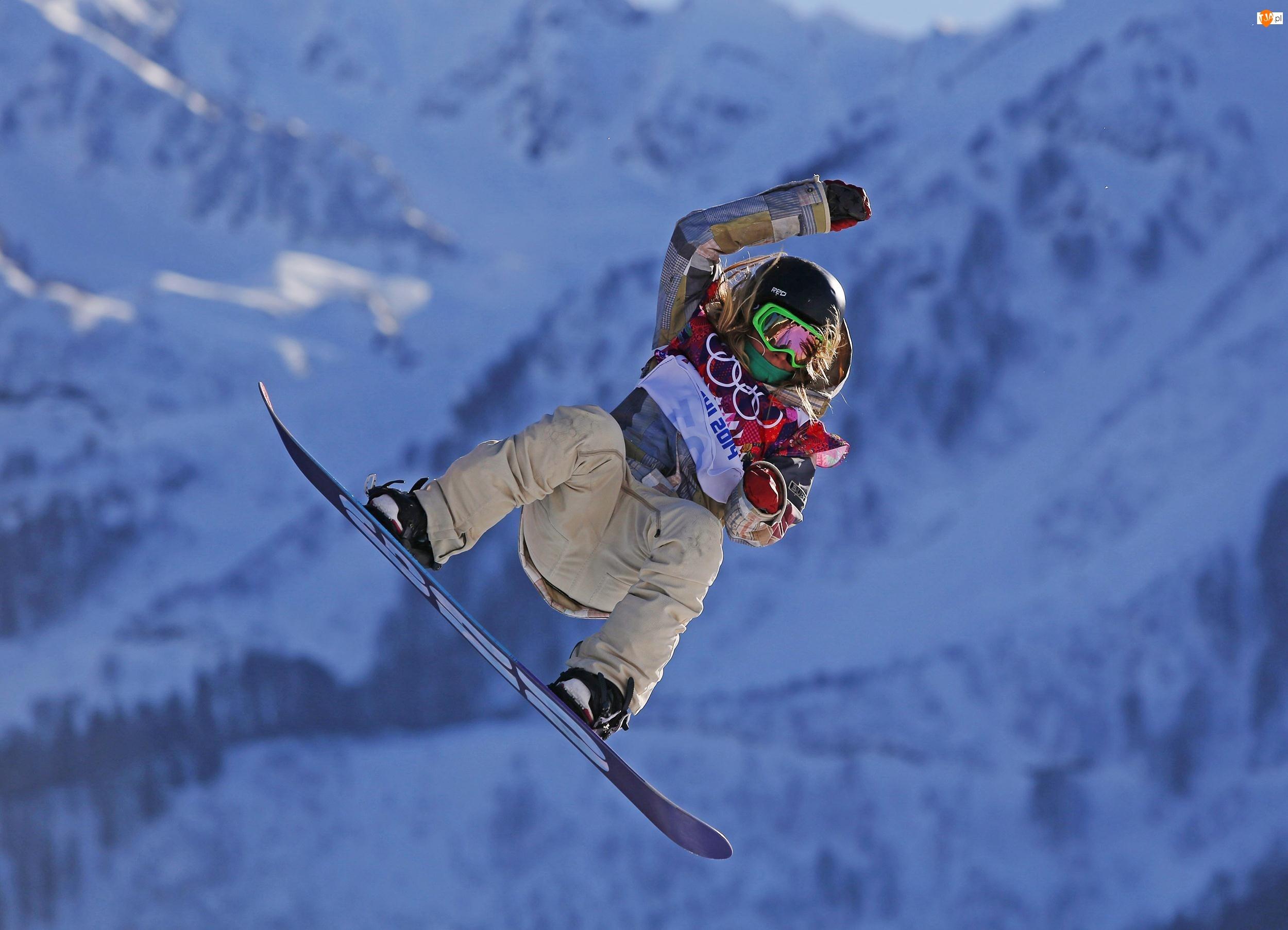 Olimpiada, Złoty, Jamie Anderson, Snowbording, Sochi, Slopestyle, Medalista