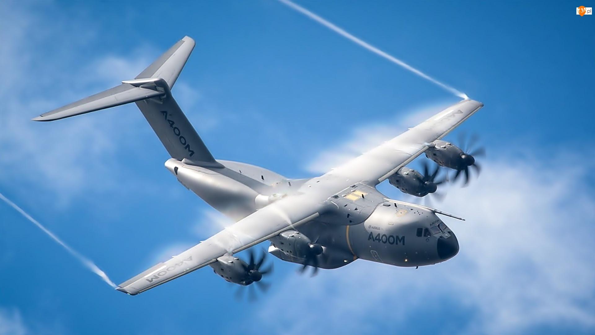 Samolot, A400M, Wojskowy, Airbus