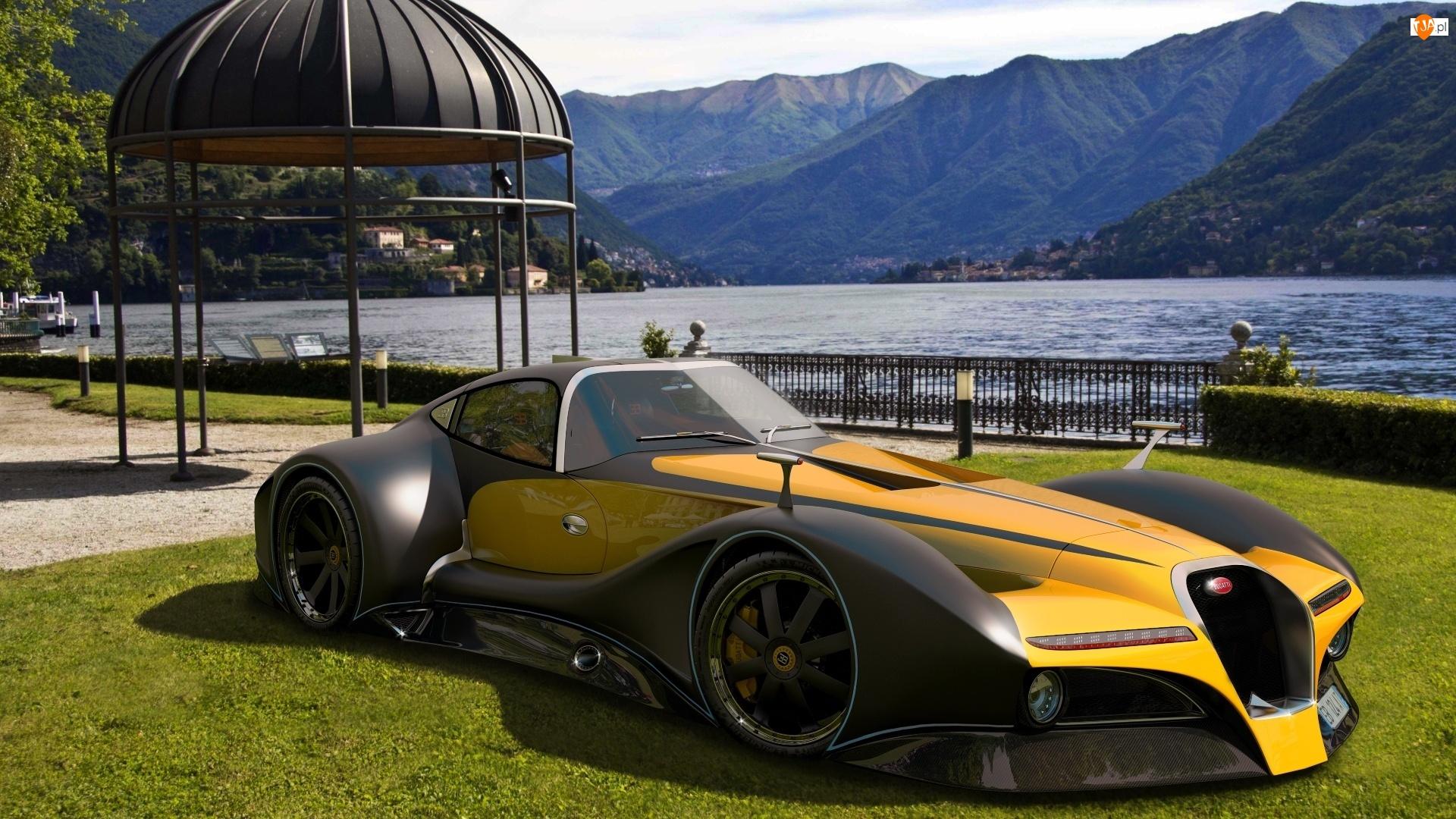 Bugatti 12.4, Góry, Atlantique, Jezioro