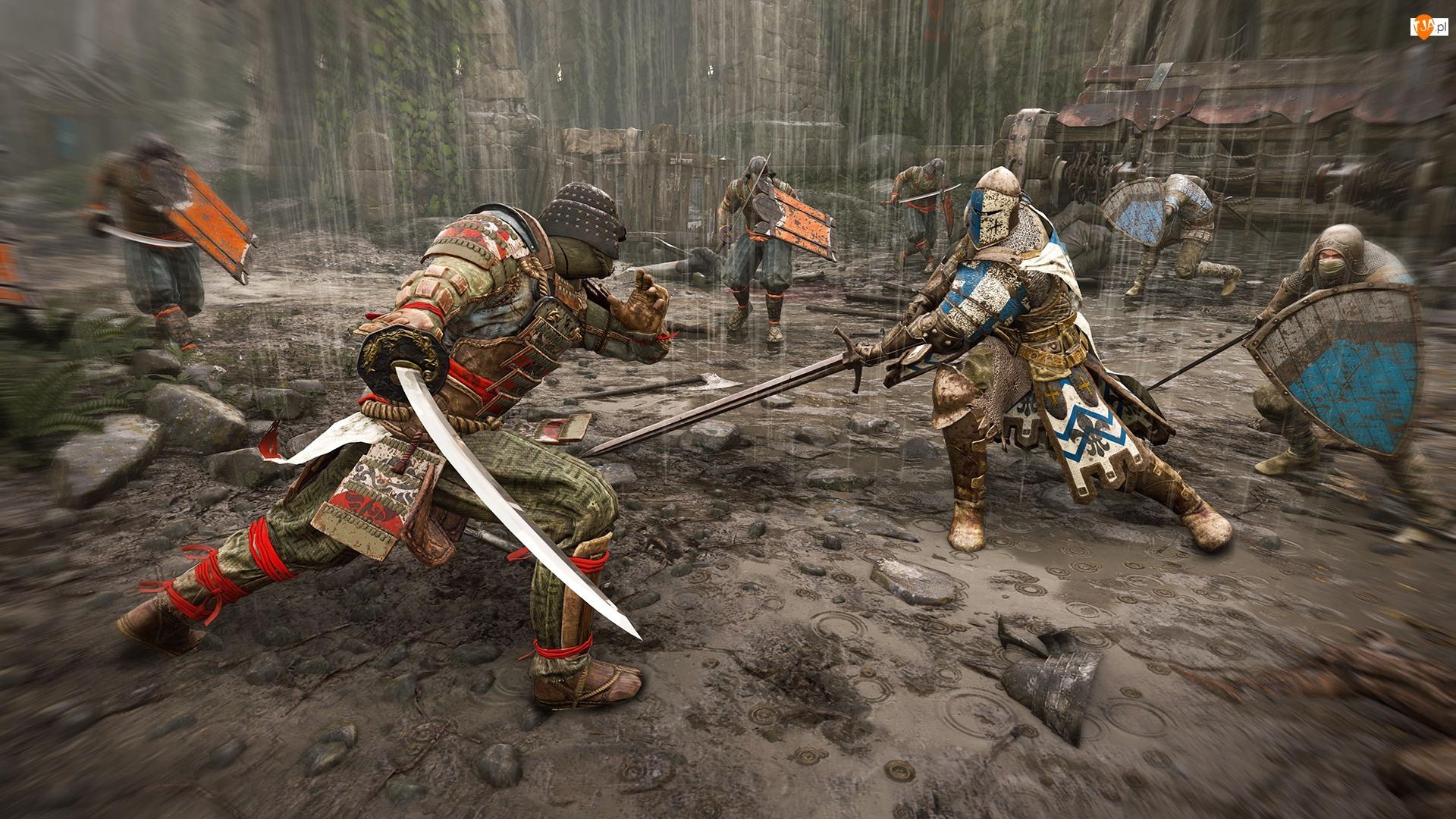 Rycerz Strażnik, For Honor, Samuraj Orochi