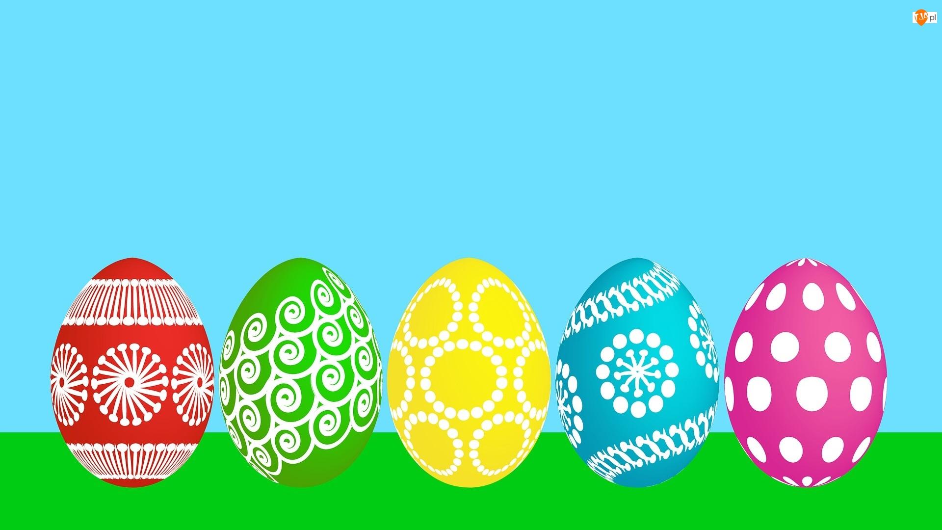 Grafika 2D, Wielkanoc, Pisanki