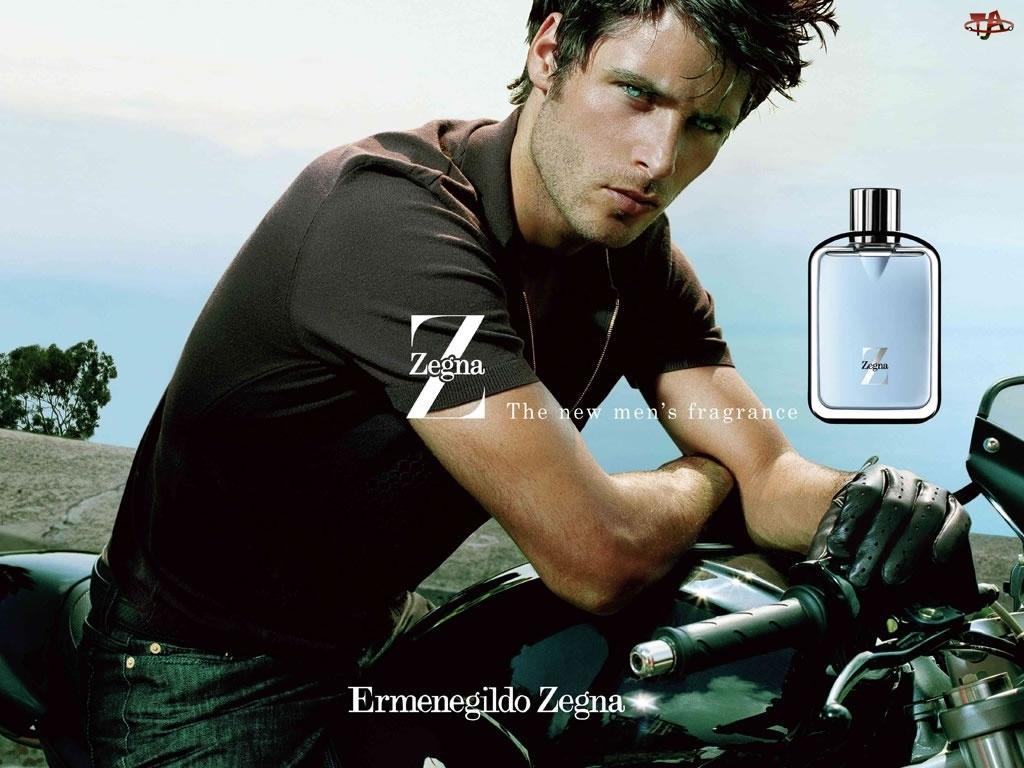 perfumy, Ermenegildo Zegna, motor, mężczyzna, flakon