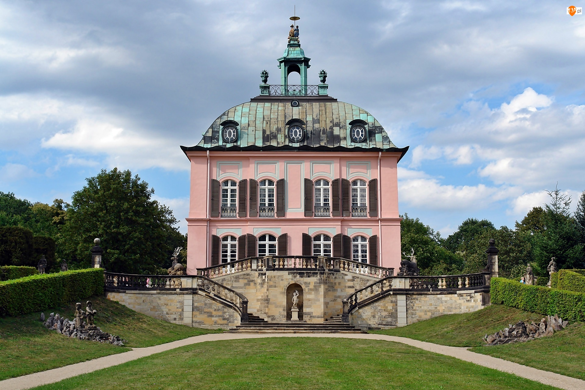 Moritzburg, Park, Zamek, Fasanen