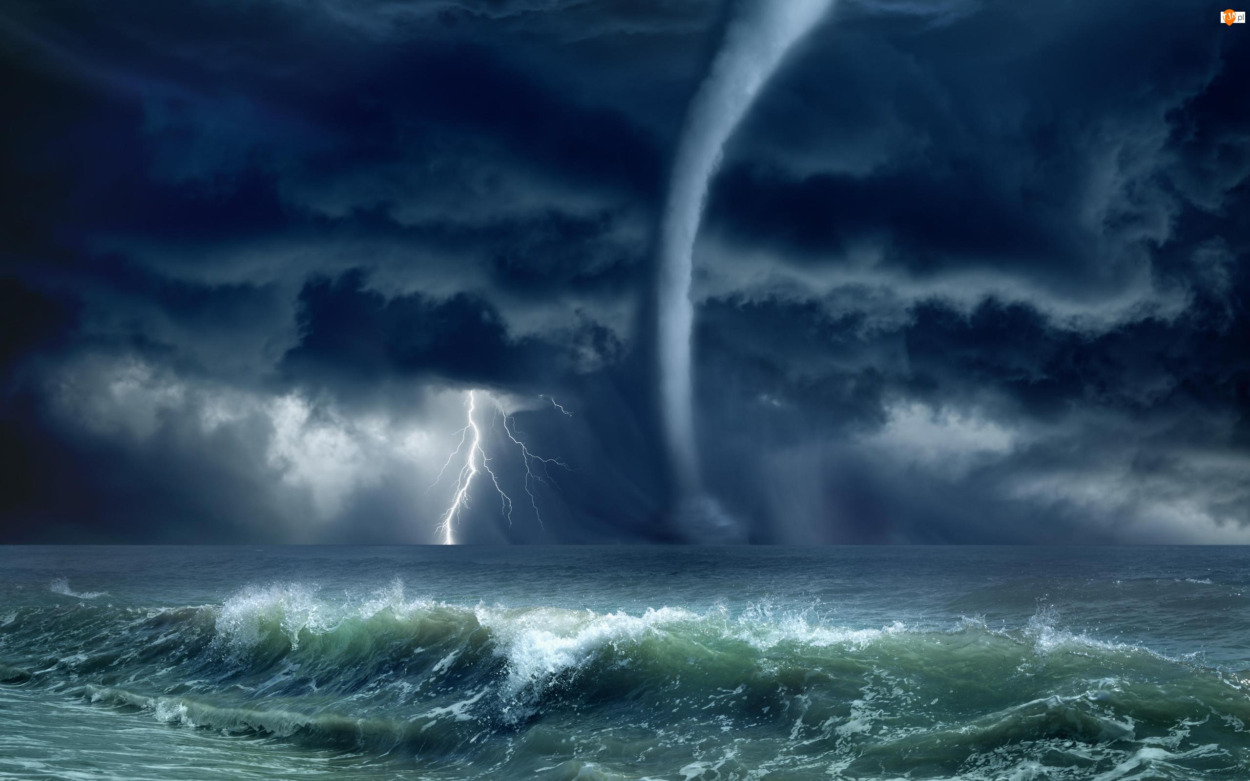 Tornado, Morze, Błyskawice