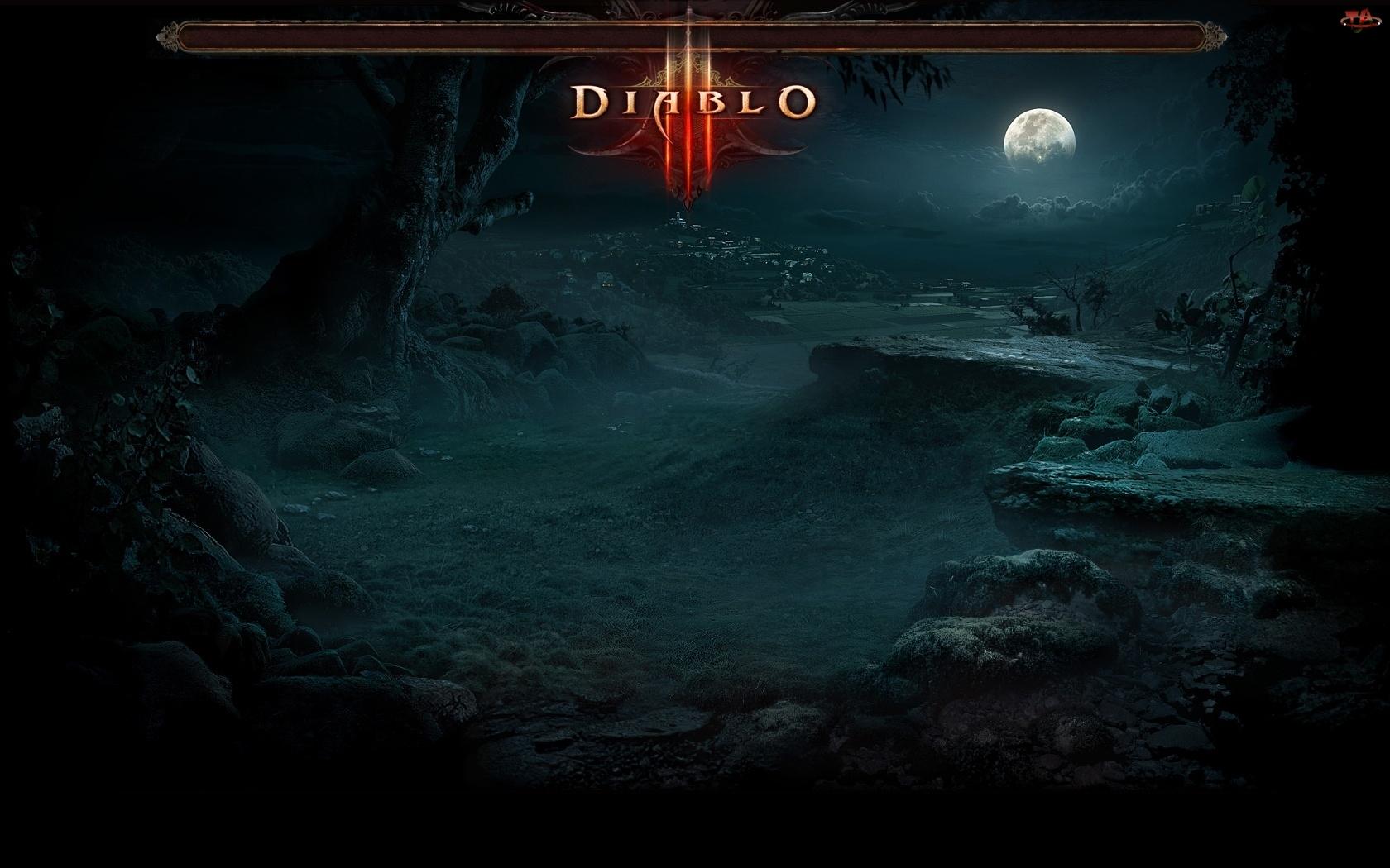Screenshot, Diablo, Drzewo