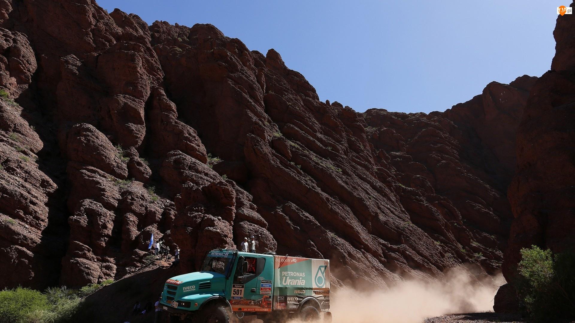 Iveco, Rajd Dakar, Ciężarówka