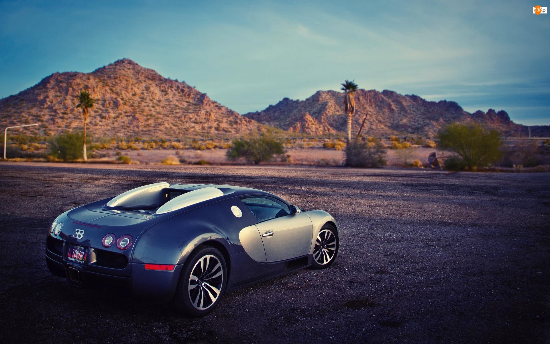 Bugatti, Wzgórze, Veyron, Droga