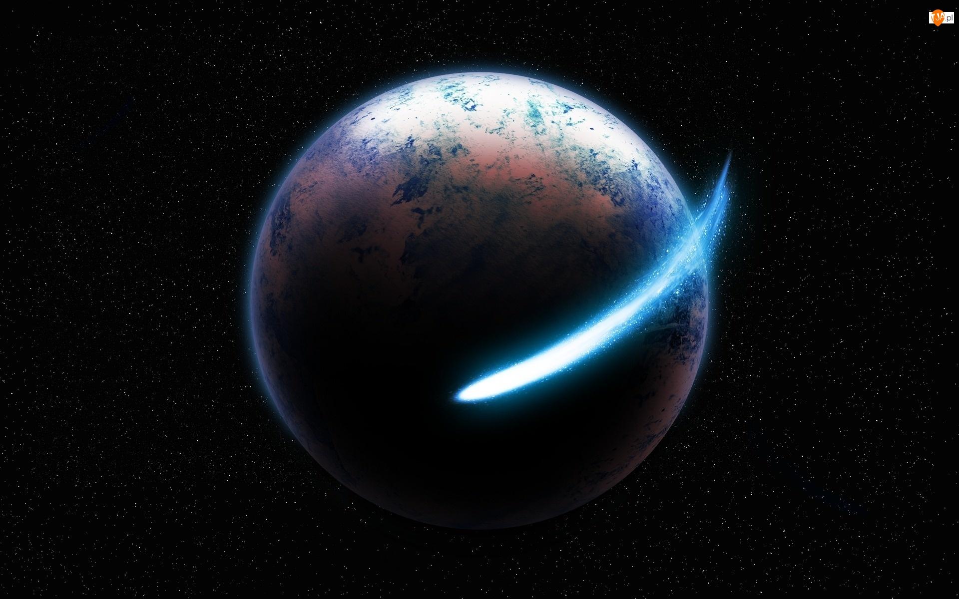 Planeta, Kometa