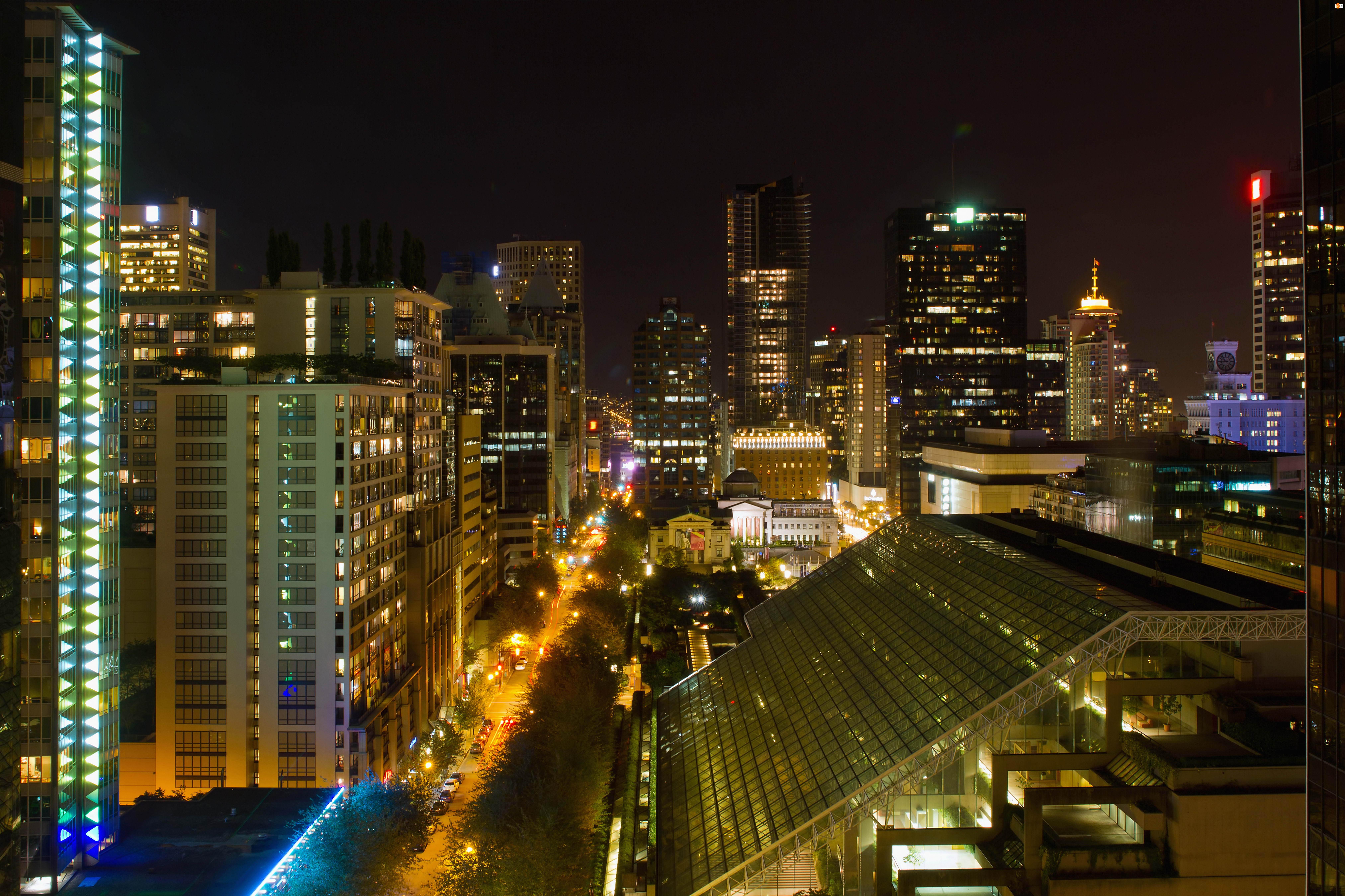 Vancouver, Dom, Kanada, Noc