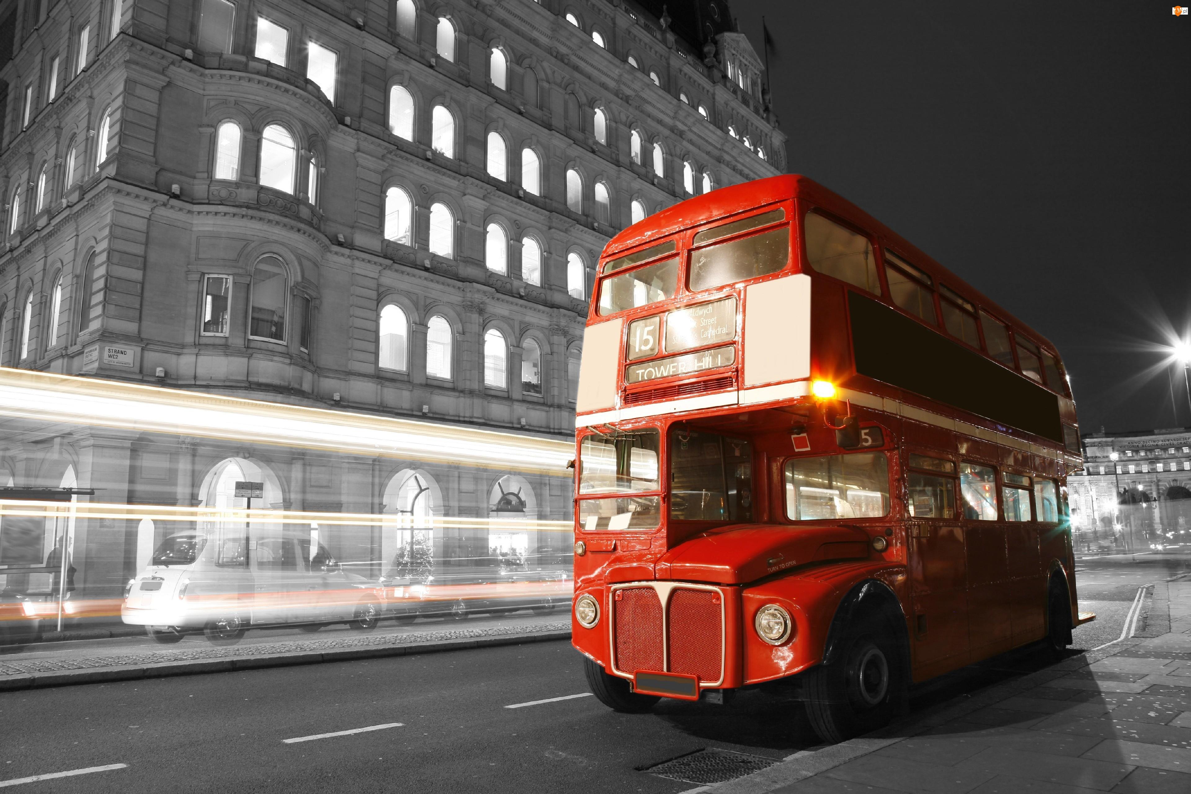 Miasto, Autobus, Piętrowy