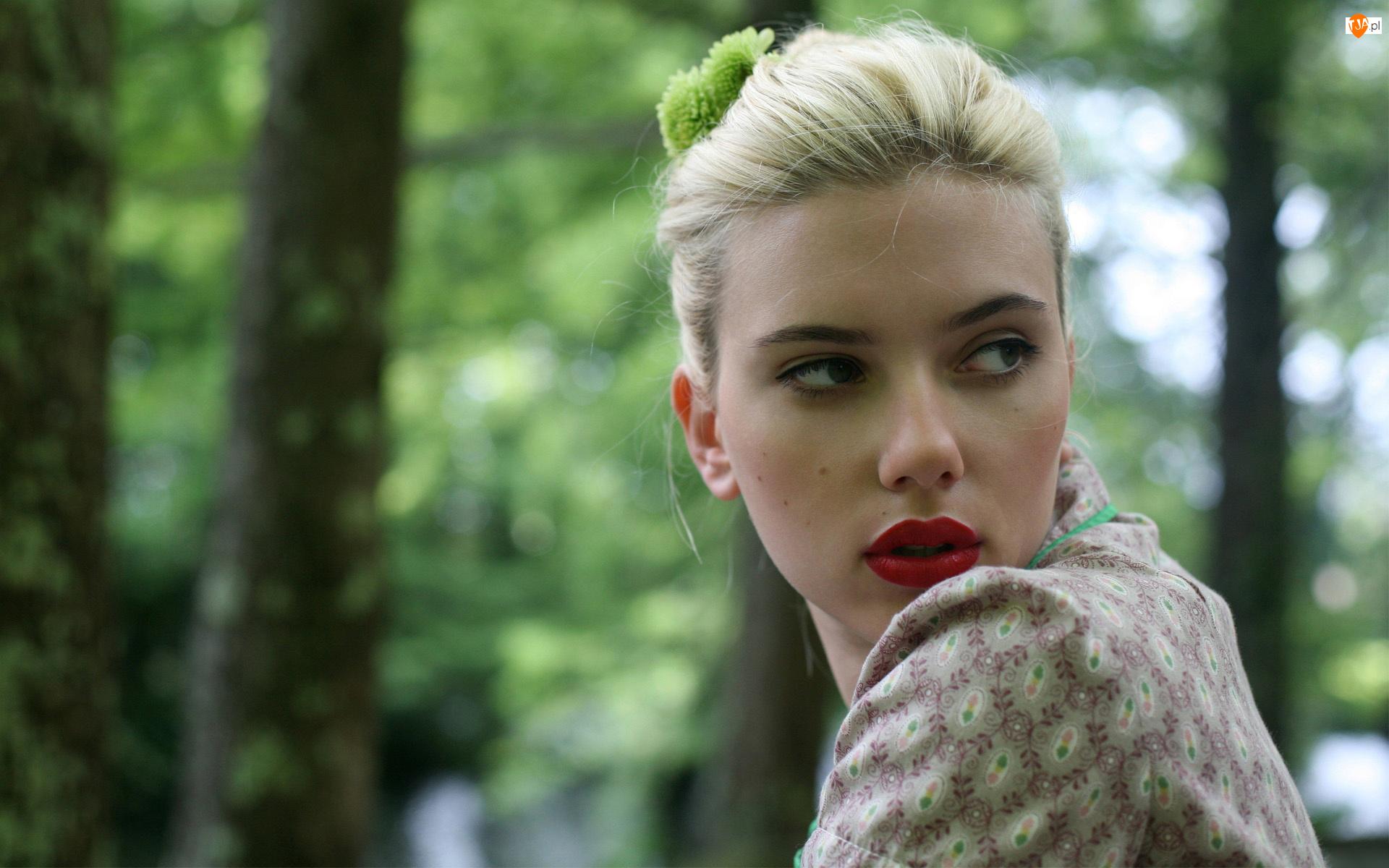 Rozmycie, Scarlett, Johansson