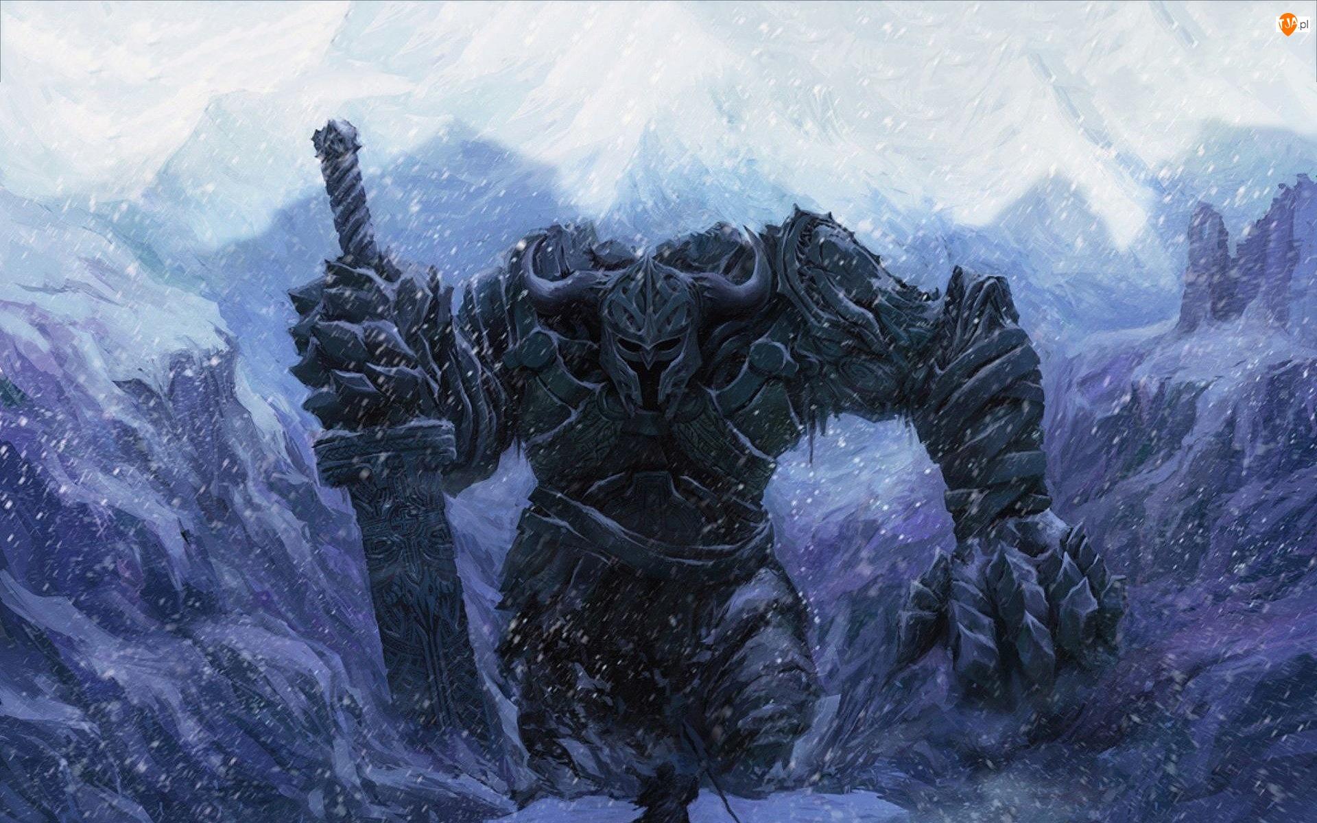 Śnieżyca, Miecz, Góry, Olbrzym
