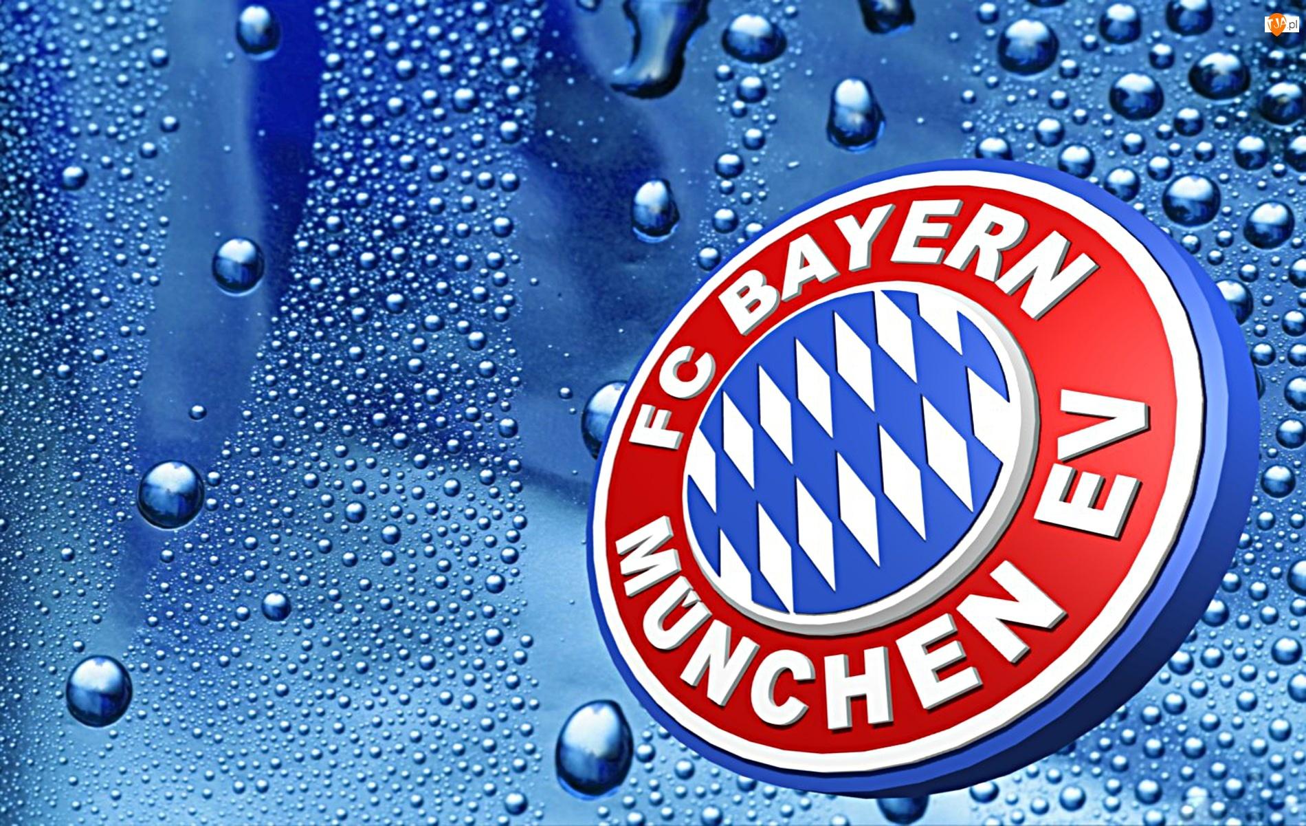 krople, Bayern Monachium, sport, piłka nożna, woda