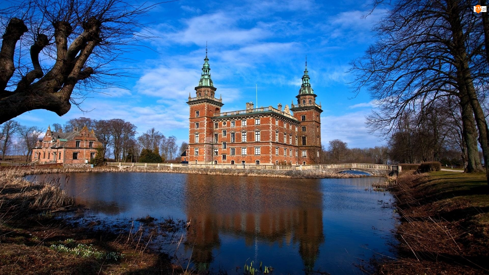 Szwecja, Most, Gmina Kristianstad, Zamek Trolle-Ljungby, Fosa