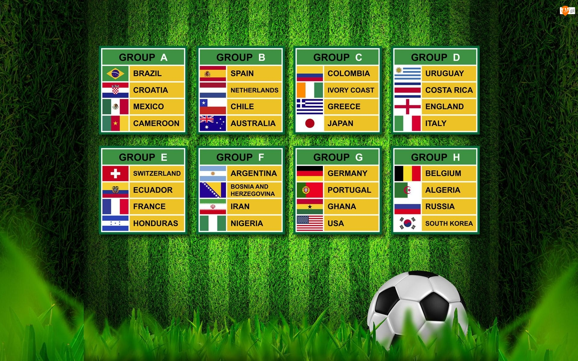 Fifa, Grupy, World, 2014