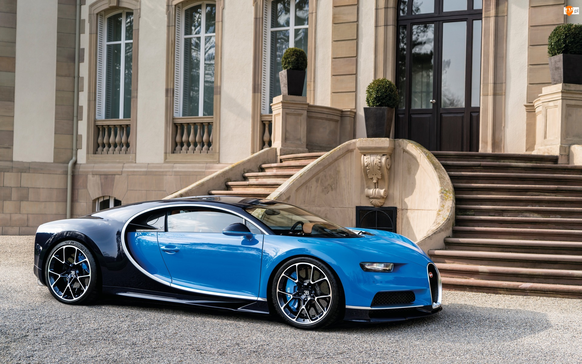 2016, Niebieski, Bugatti Chiron
