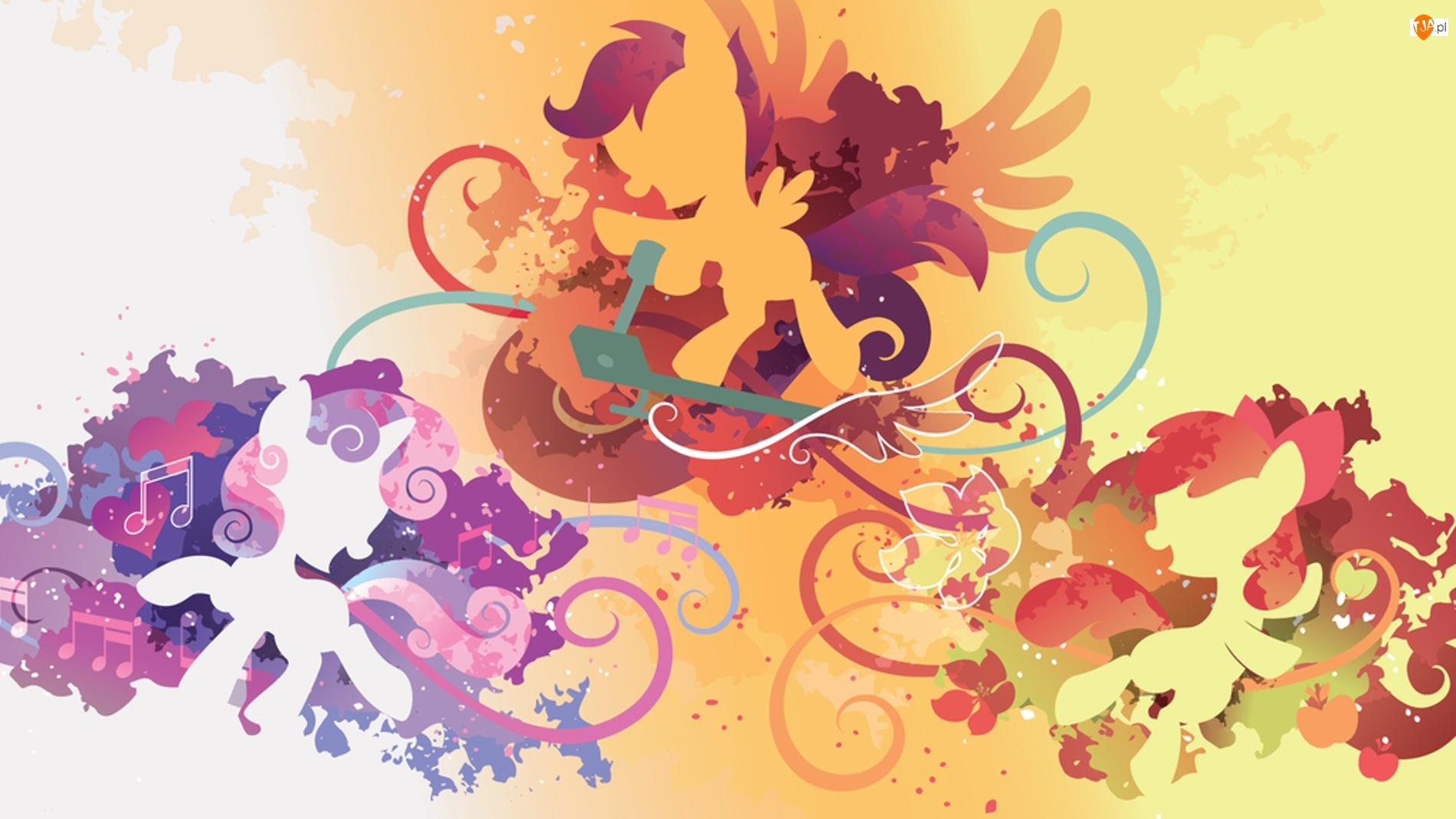 Sweetie Belle, My Little Pony, Scootaloo, Znaczkowa Liga, Apple bloom
