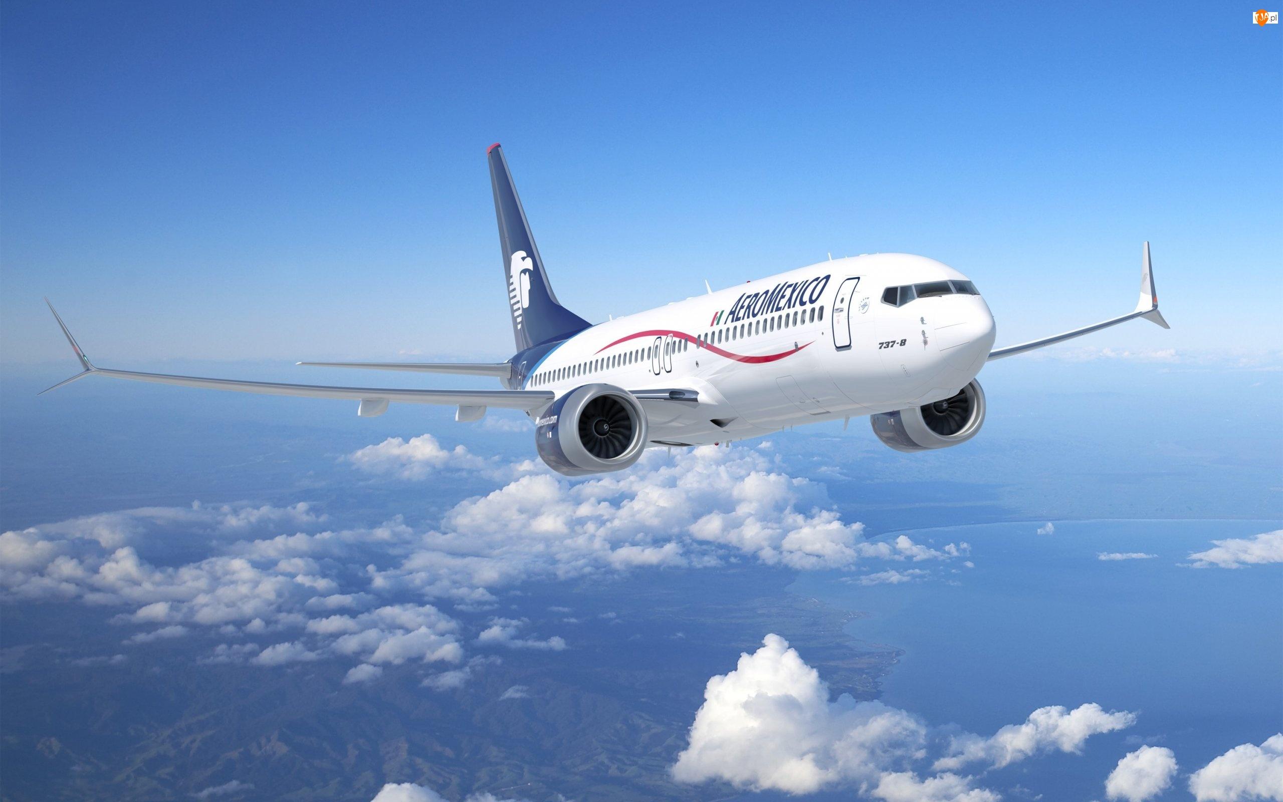 Boeing, Samolot, Niebo