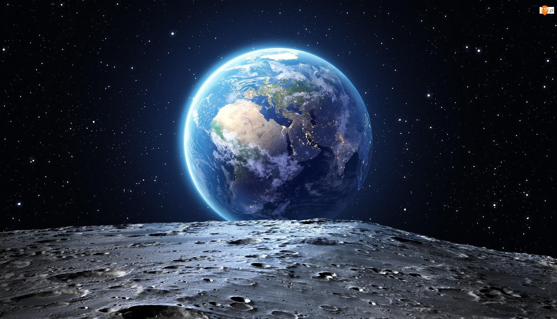 Kosmos, Gwiazdy, Planeta, Ziemia