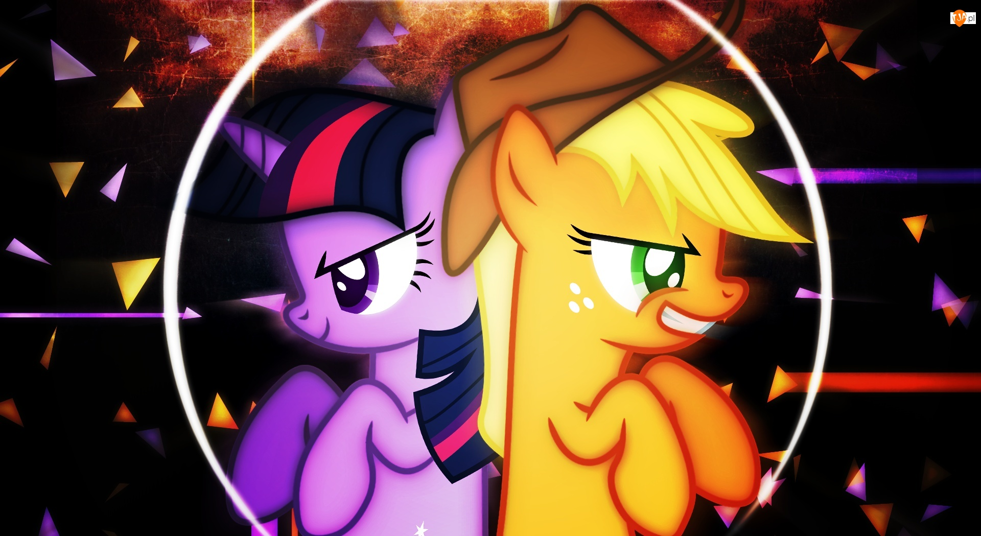 Applejack, My Little Pony, Twilight Sparkle