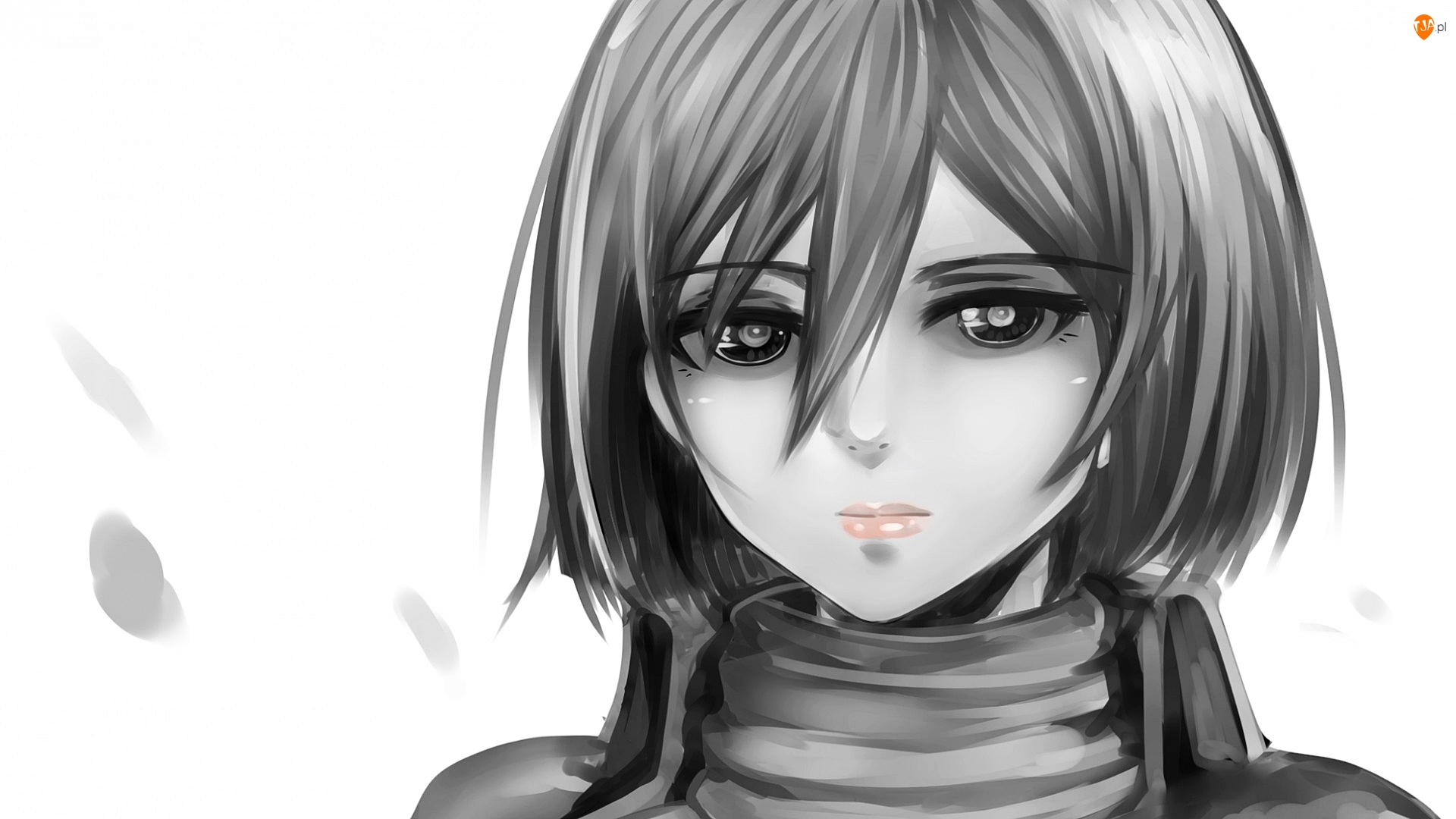 Dziewczyna, Twarz, Manga Anime, Grafika