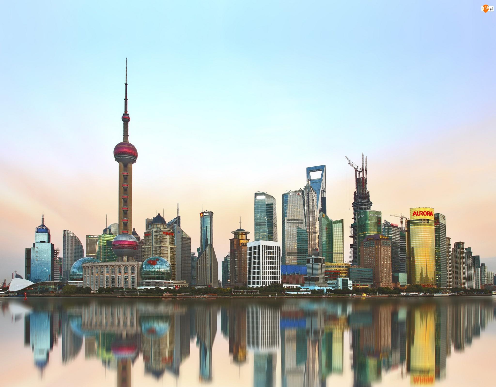 Chiny, Domy, Szanghaj, Azja