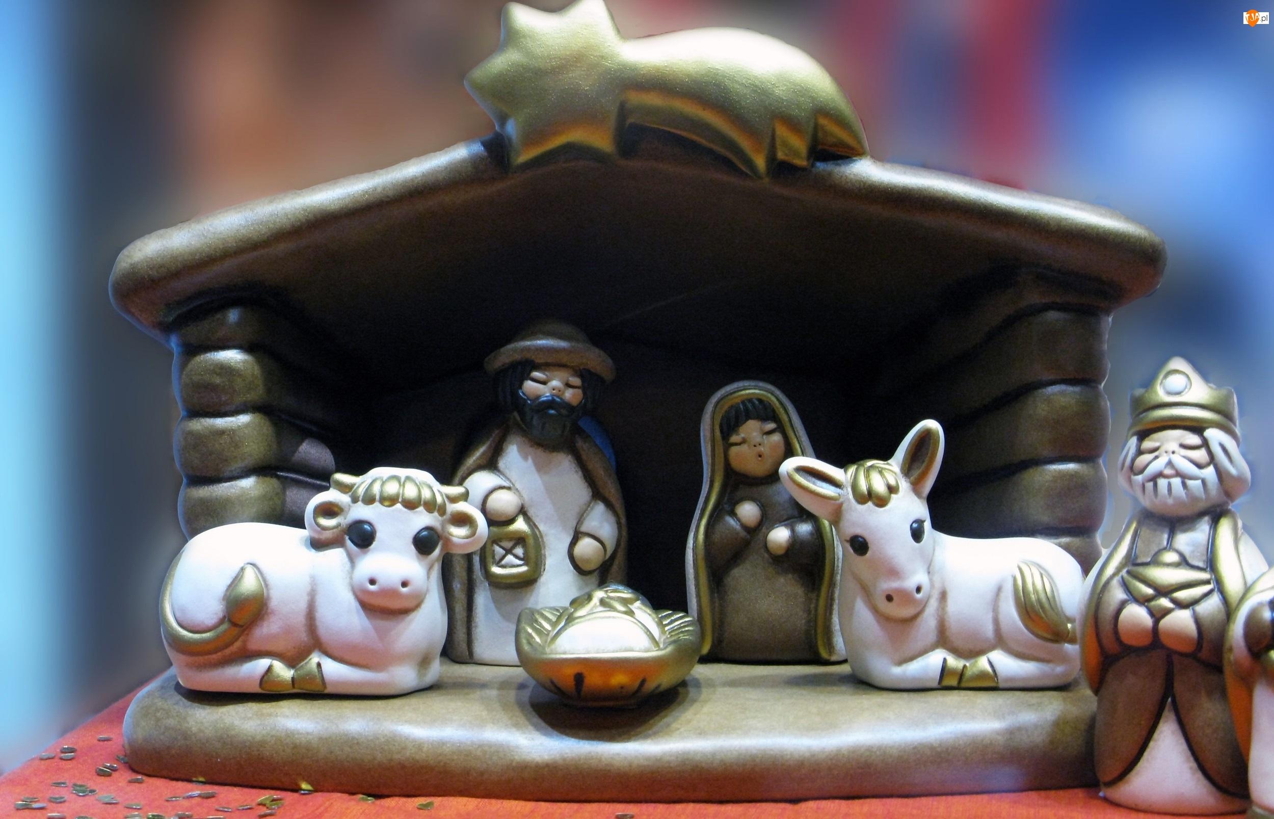 Stajenka, Narodzenie, Dekoracja, Boże
