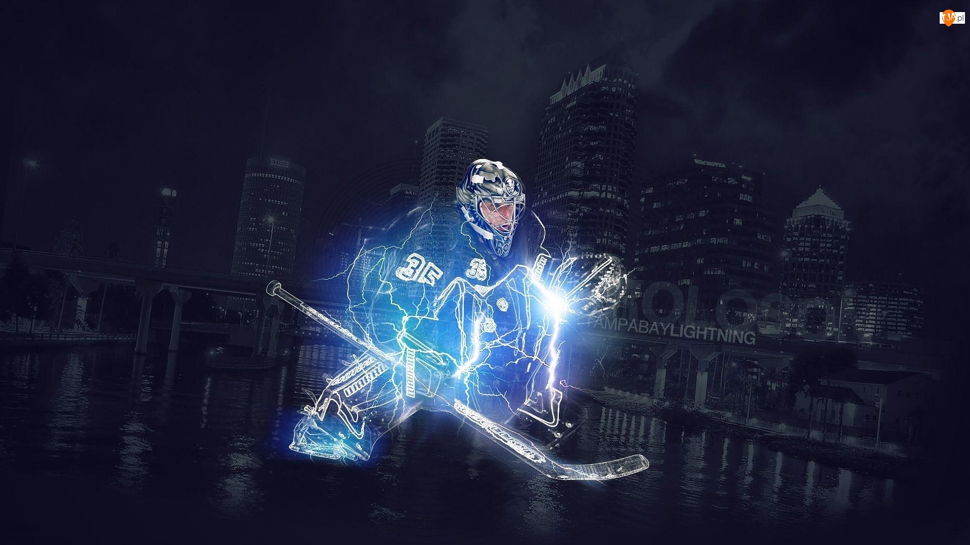 Bramkarz, Klubu, Hokej, Tampa Bay Lightning, Hokeista, Dwayne Roloson