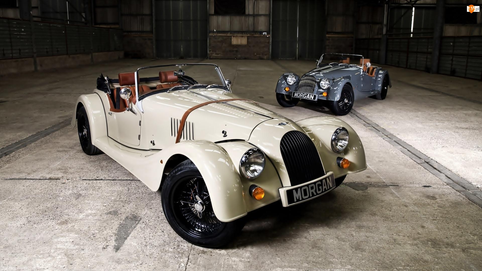 Morgan V6 Roadster, Dwa, Samochody