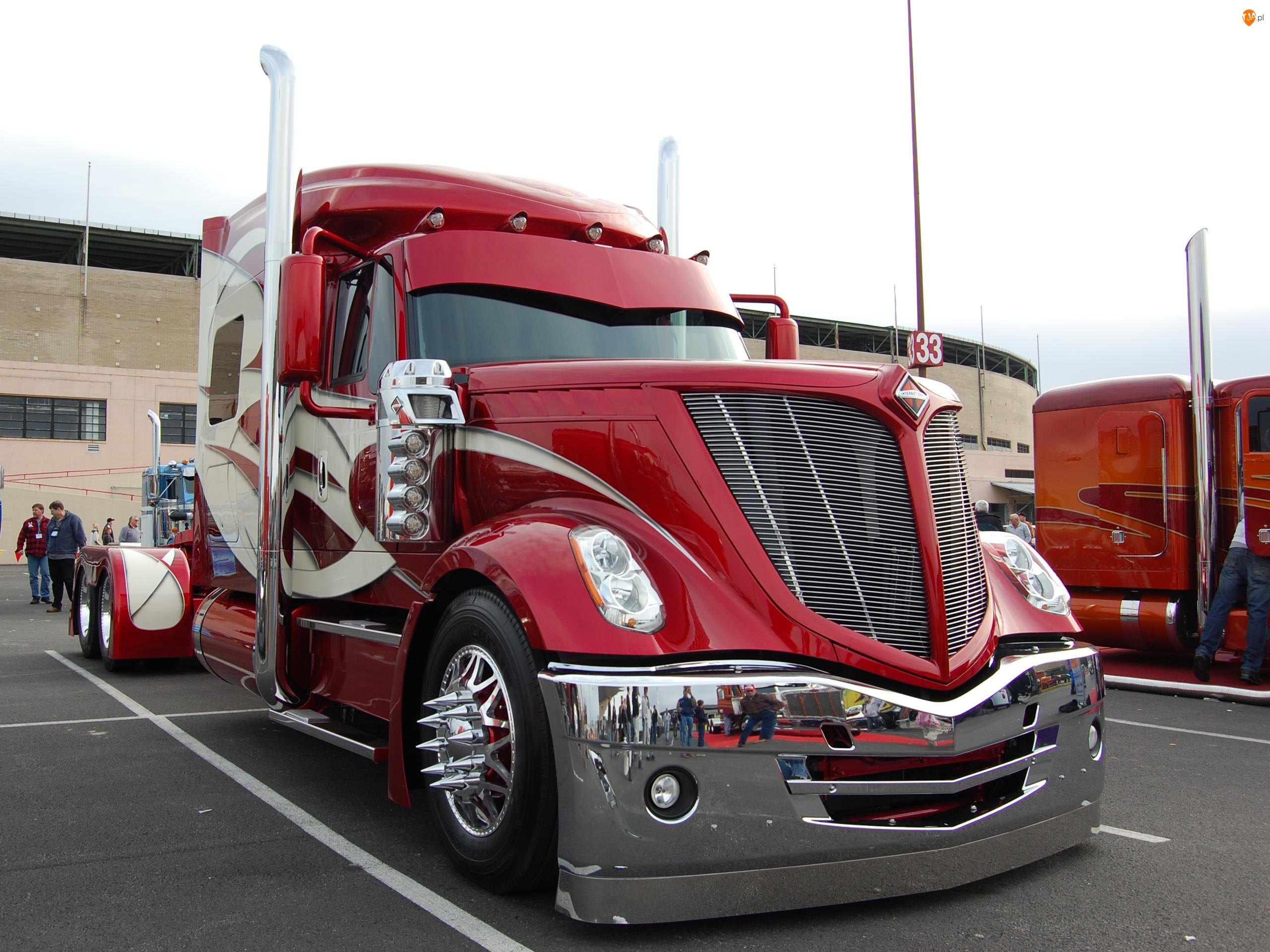 Tuning, Ciężarówka, Parking
