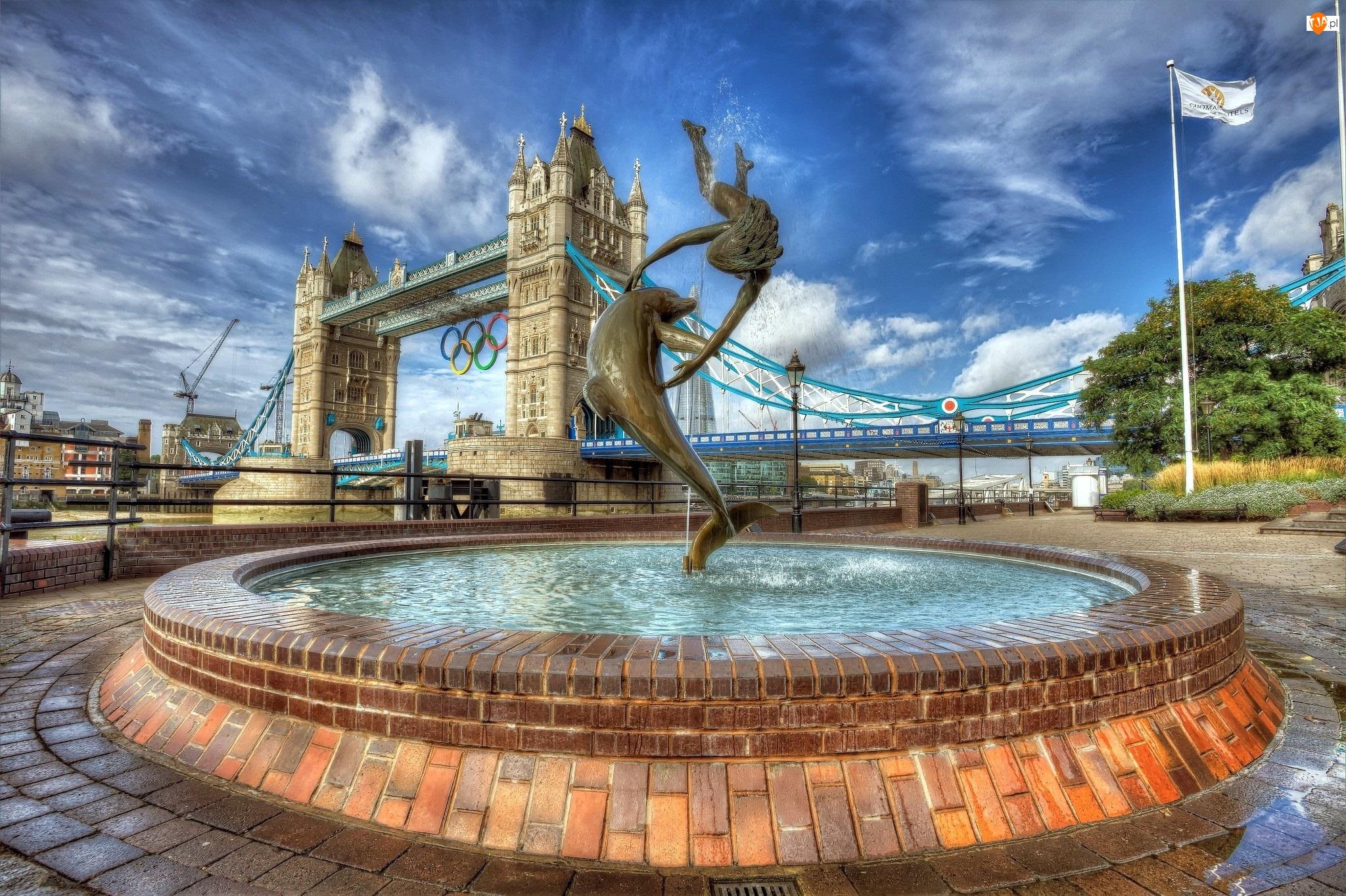 Fontanna, Anglia, Most, Londyn