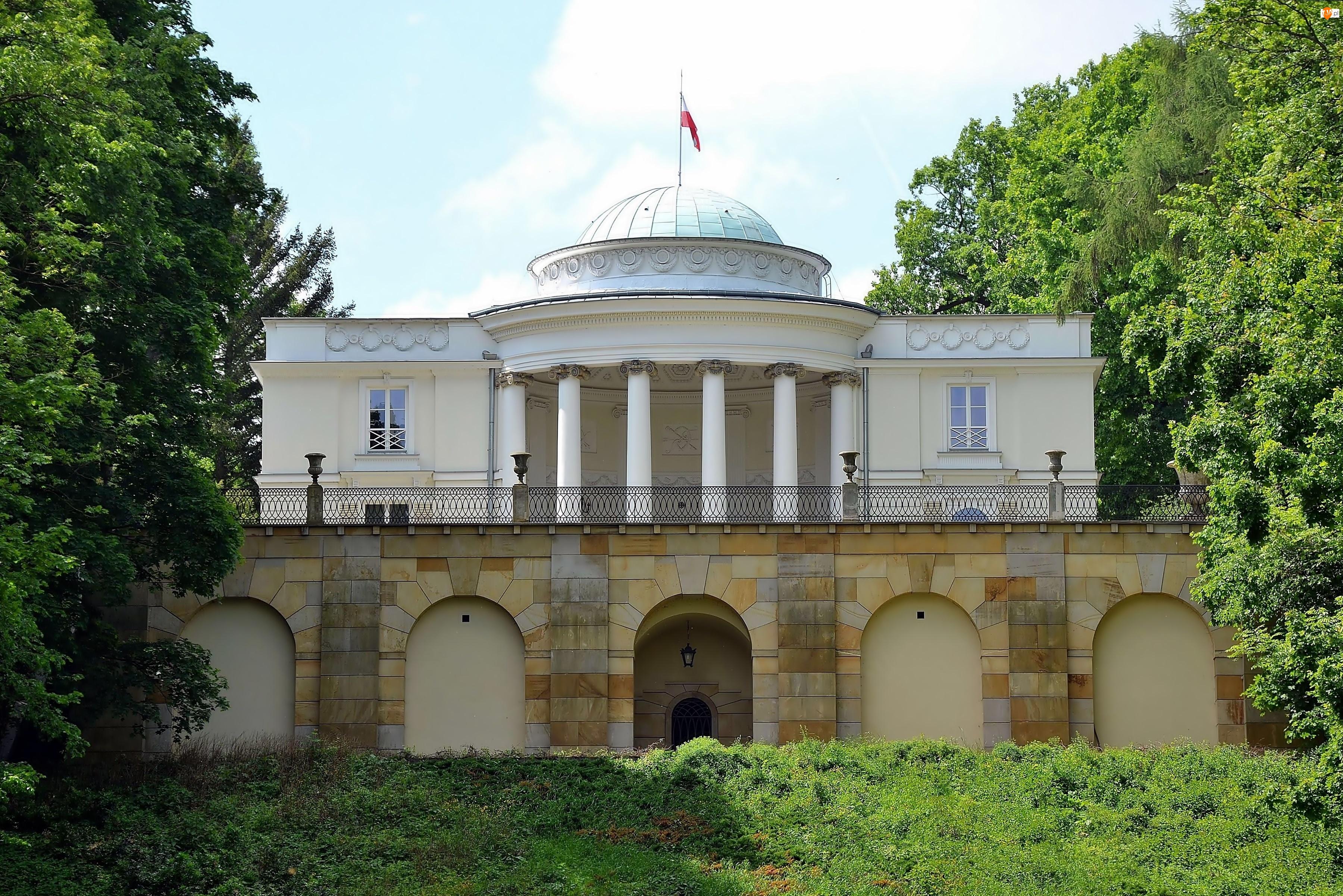Park, Pałac, W Natolinie