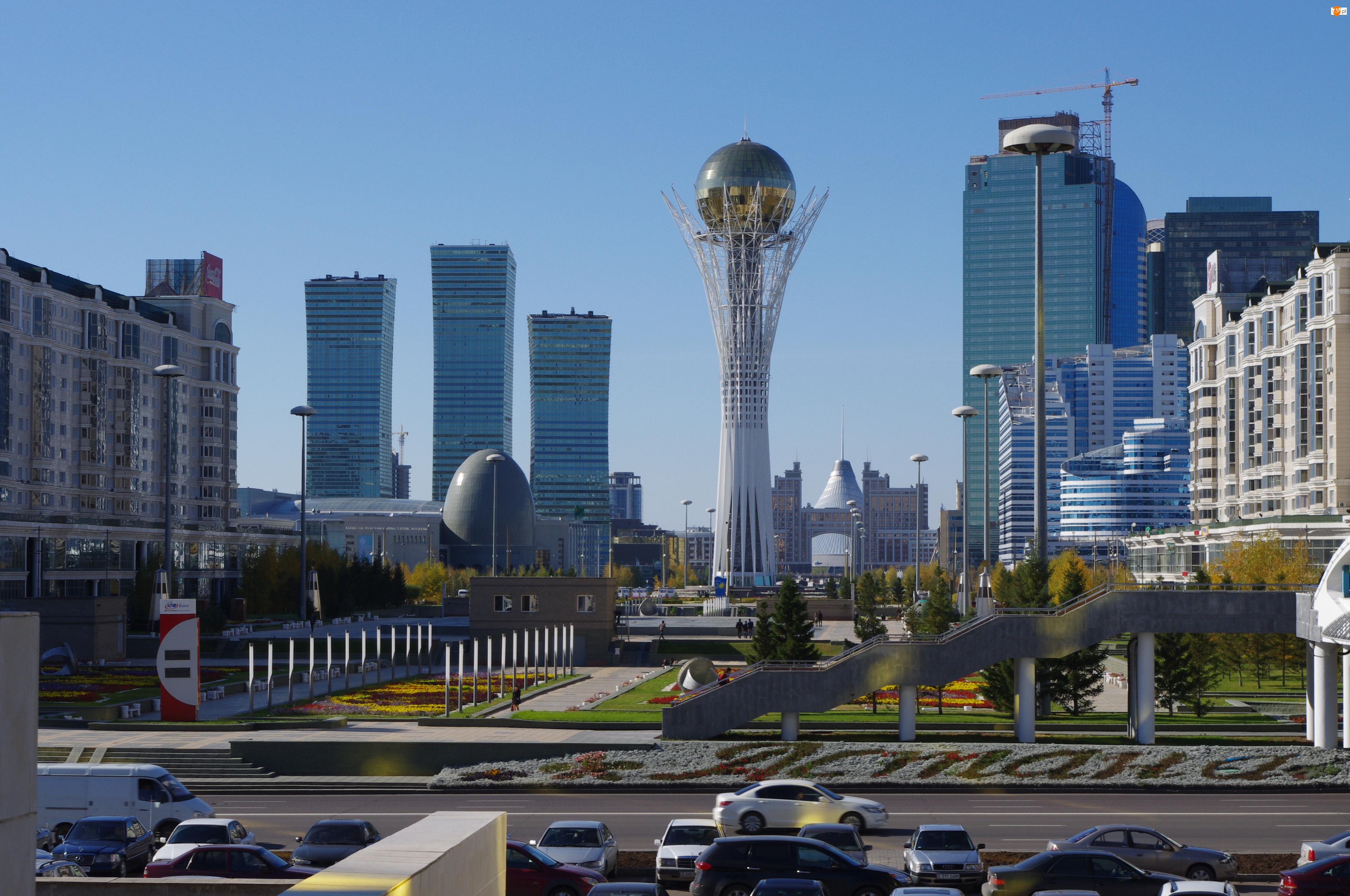 Astana, Zdjęcie miasta, Kazachstan, Azja