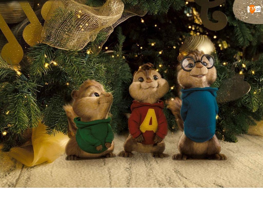 Choinka, Alvin i wiewiórki, Alvin and the Chipmunks