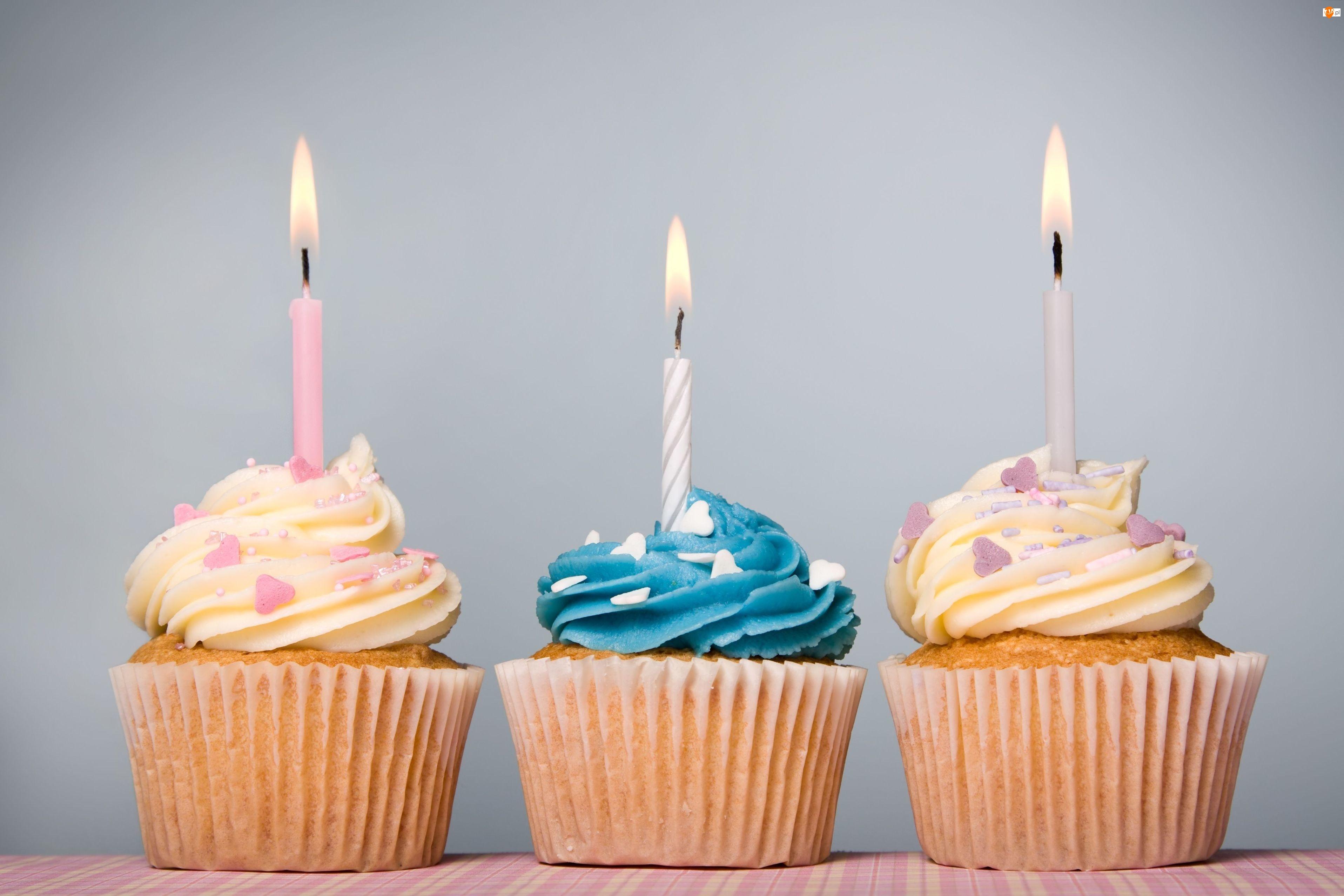 Urodzinowe, Babeczki