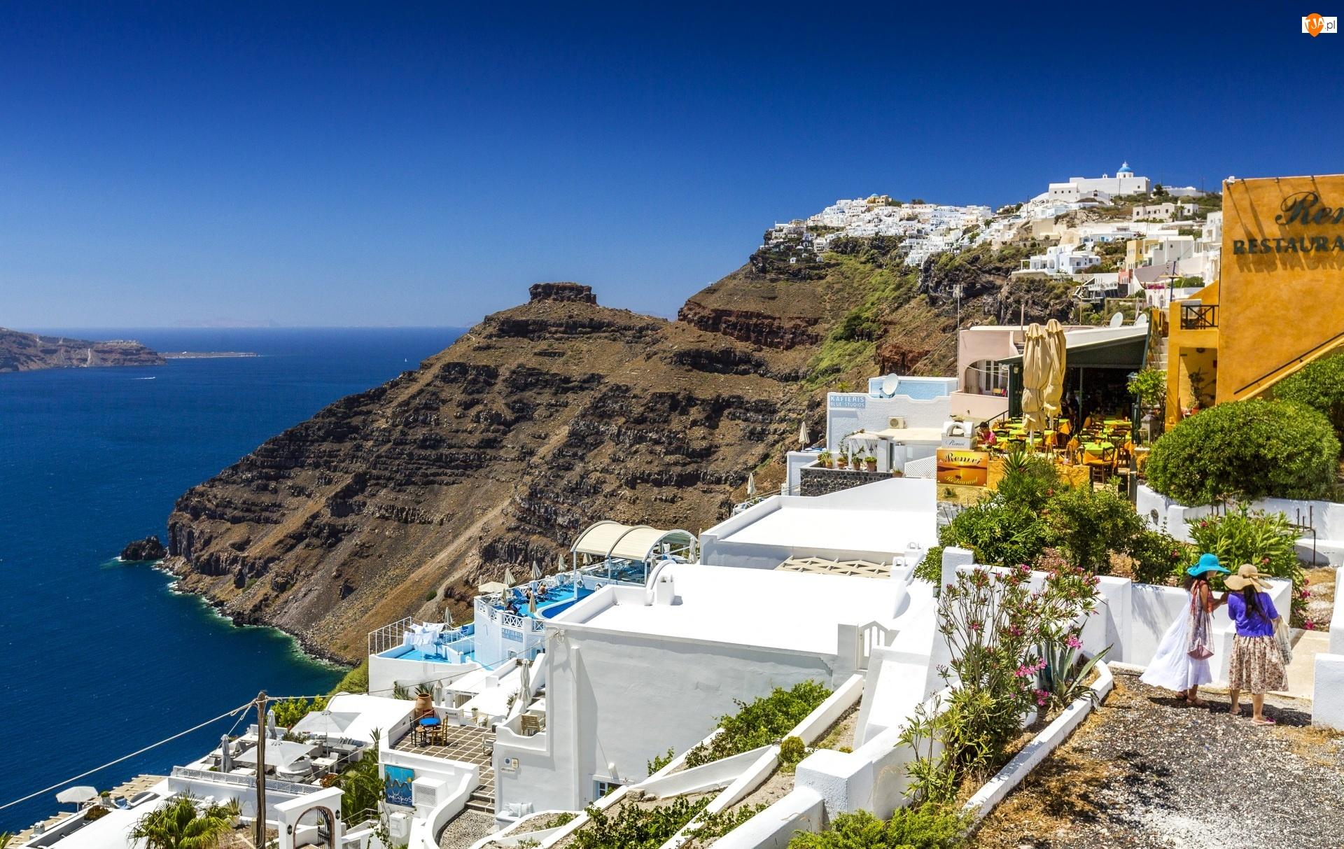 Grecja, Kurort, Santorini, Wyspa