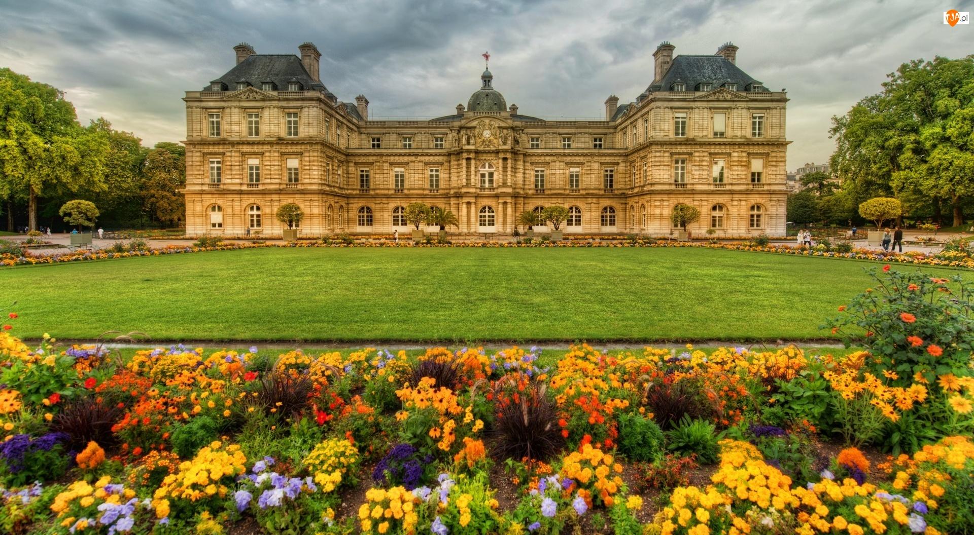 Paryż, Zamek, Ogród