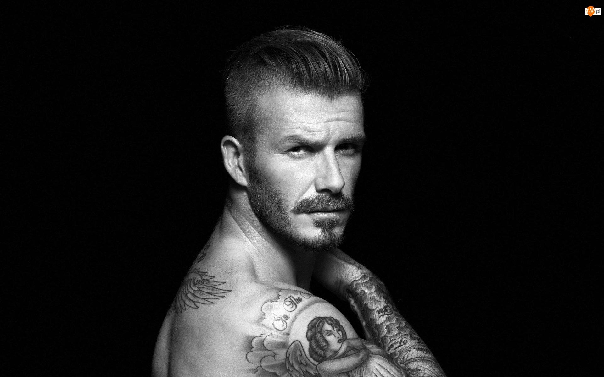 Tatuaż, David Beckham, Piłkarz