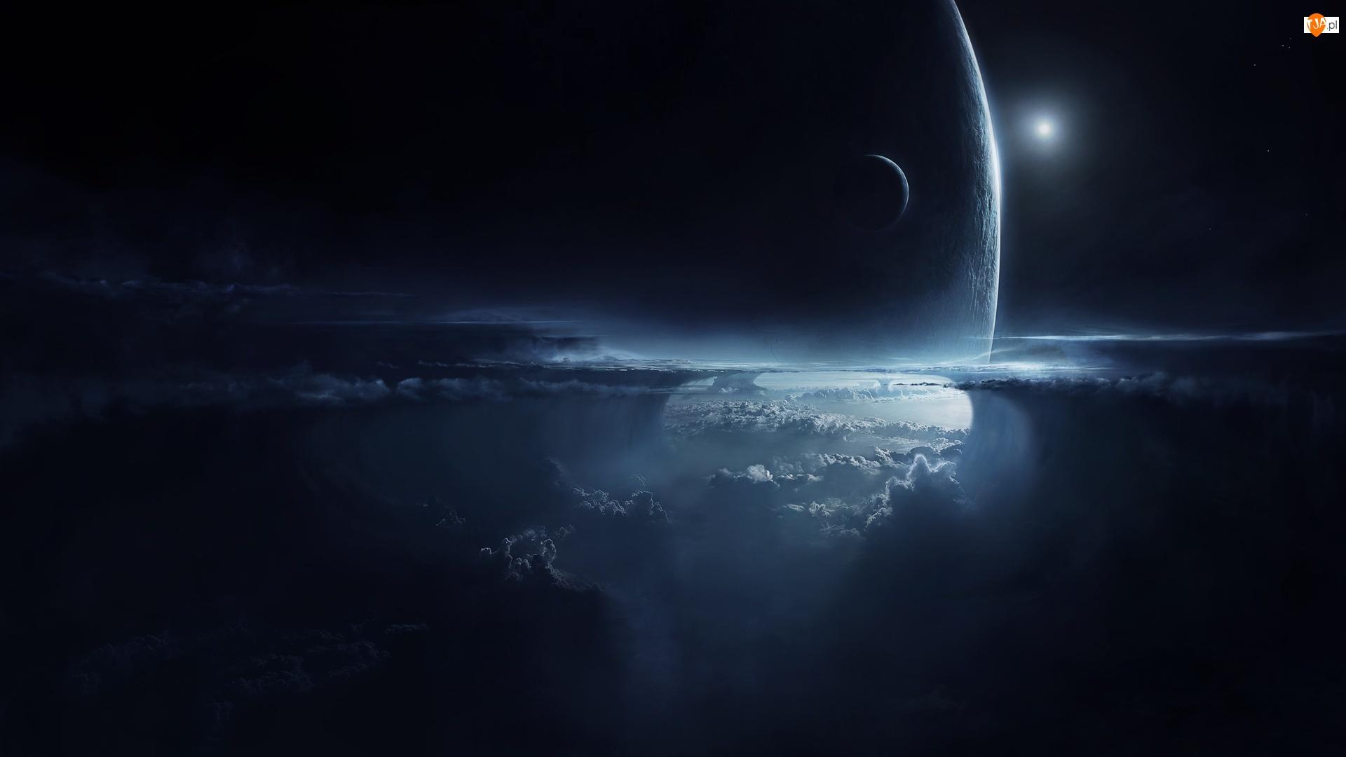 Planeta, Chmury