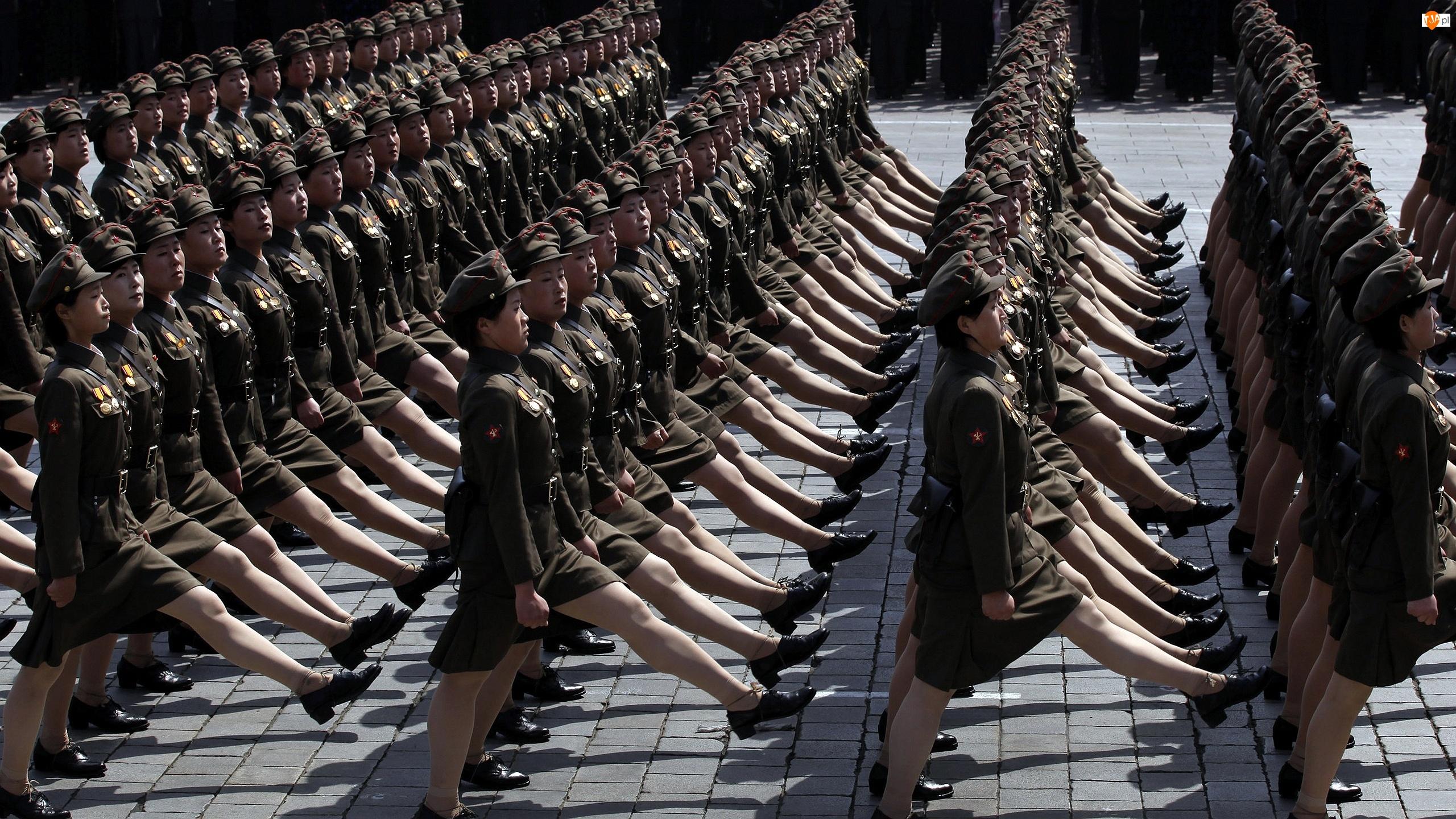 Żołnierki, Korei Północnej