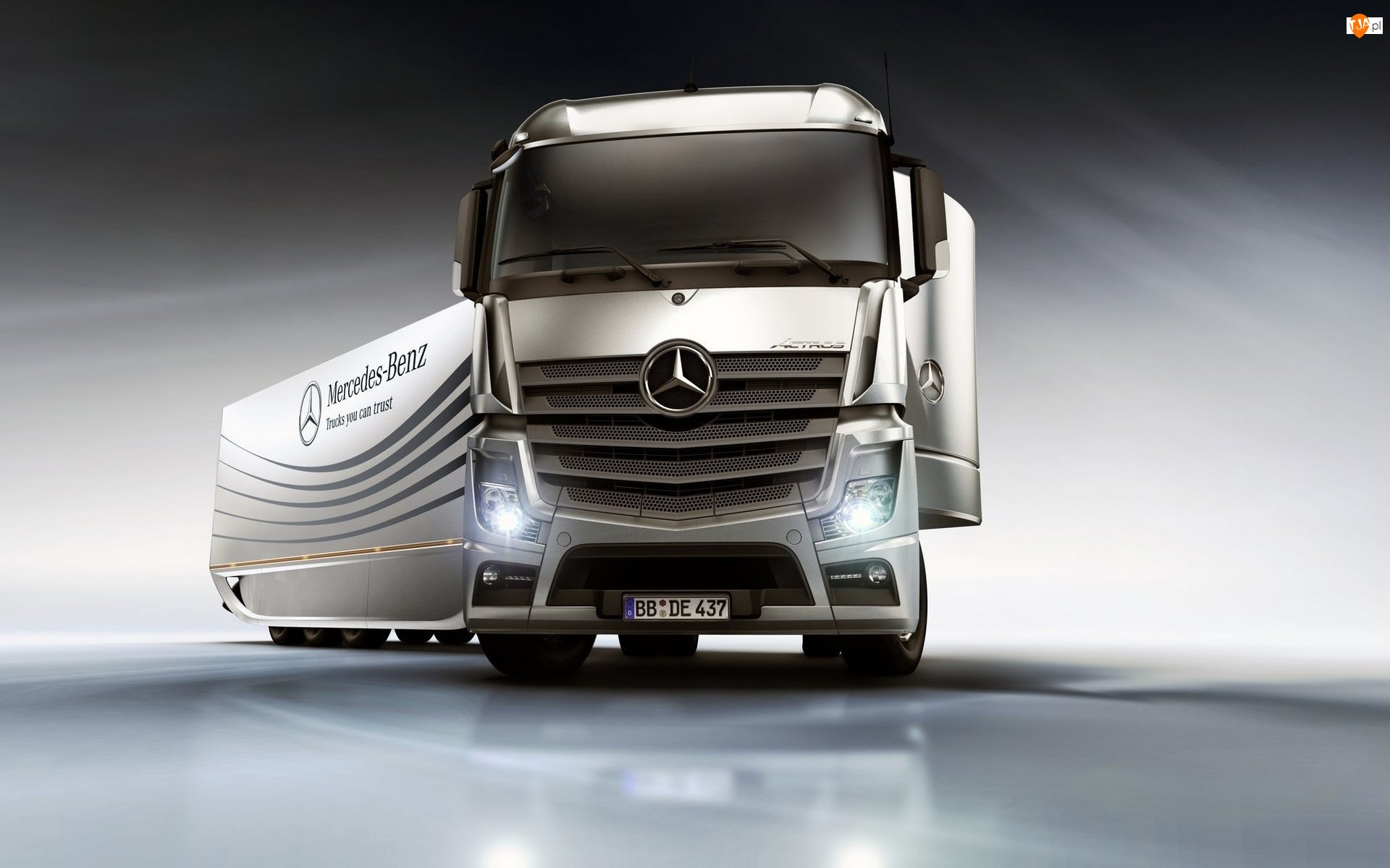 2011, Ciężarówka, Mercedes-Benz Actros