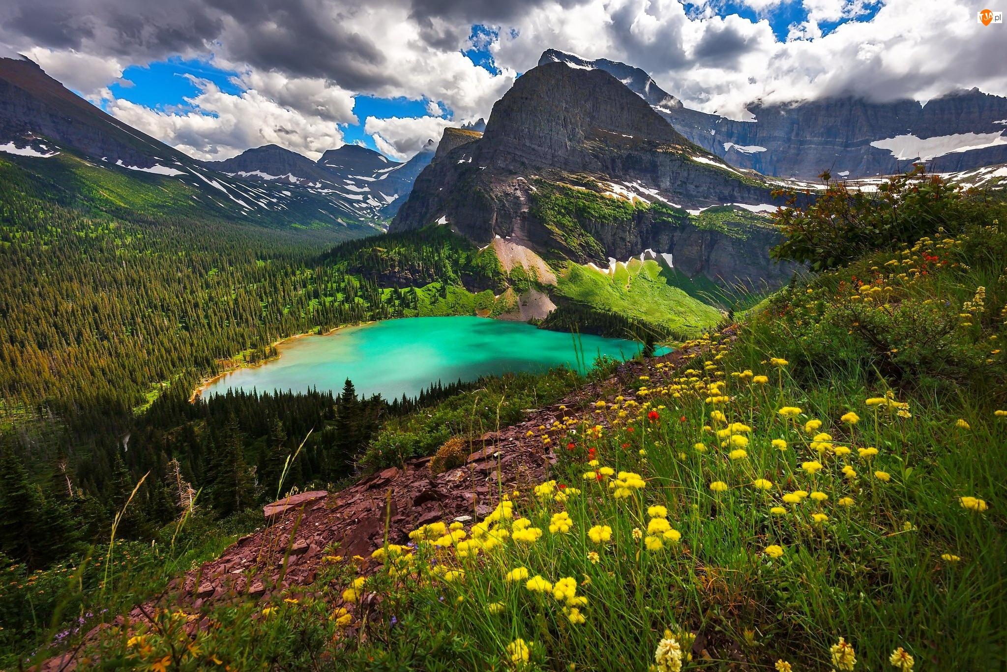 Łąka, Góry, Jezioro