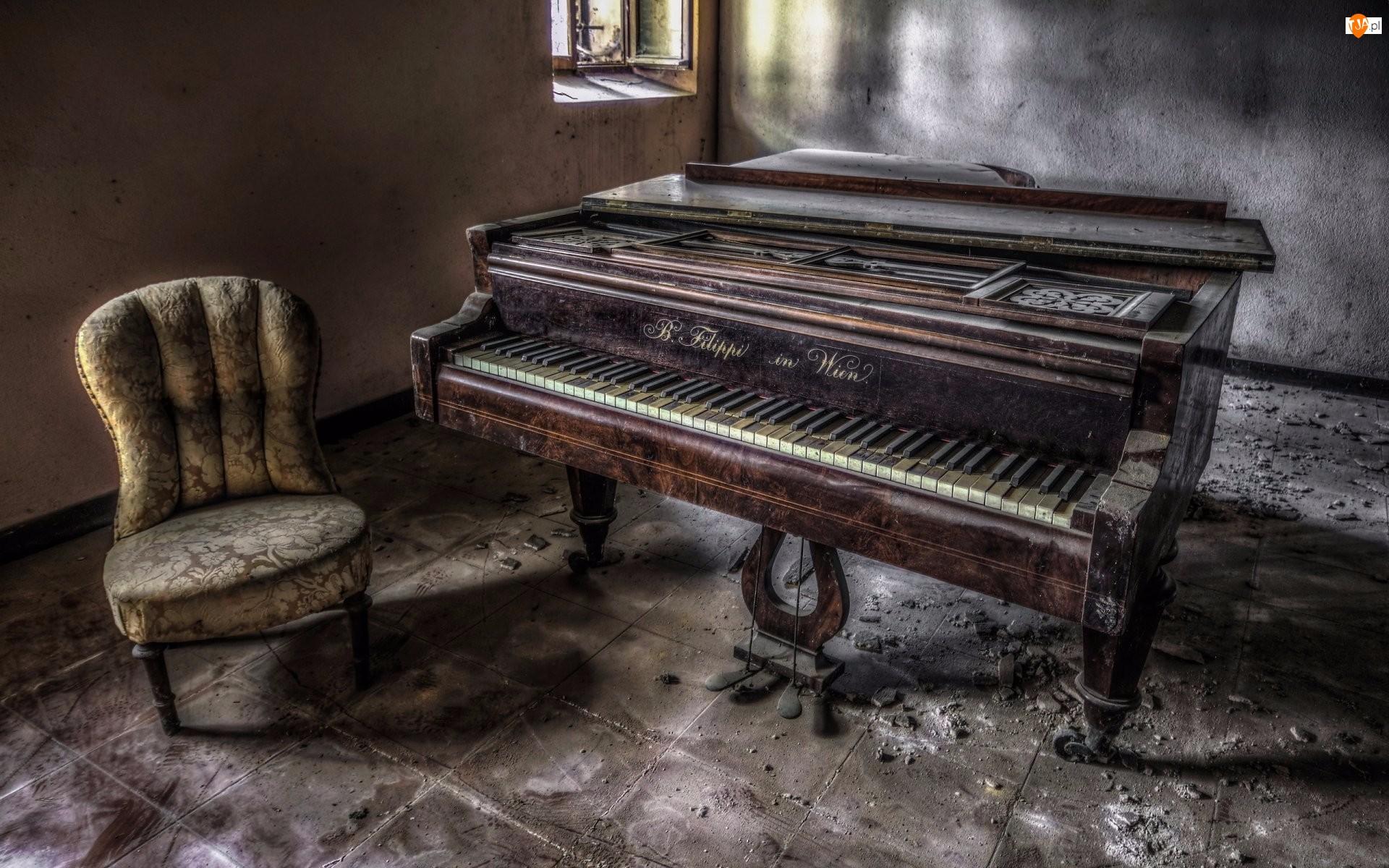 Fortepian, Fotel