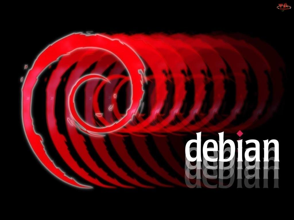 ślimak, Linux Debian, muszla, grafika, zawijas