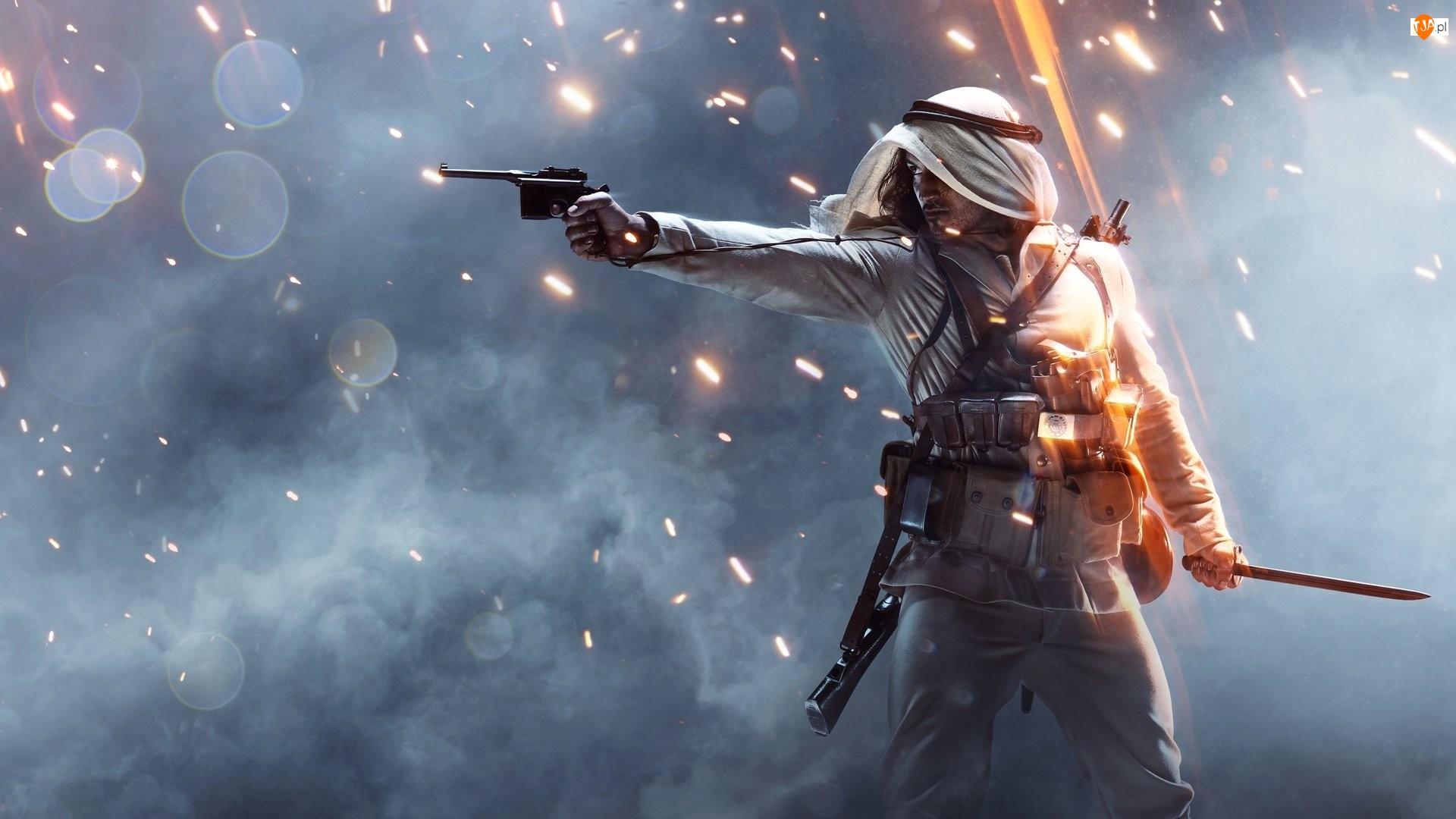 Żołnierz, Gra, Battlefield 1