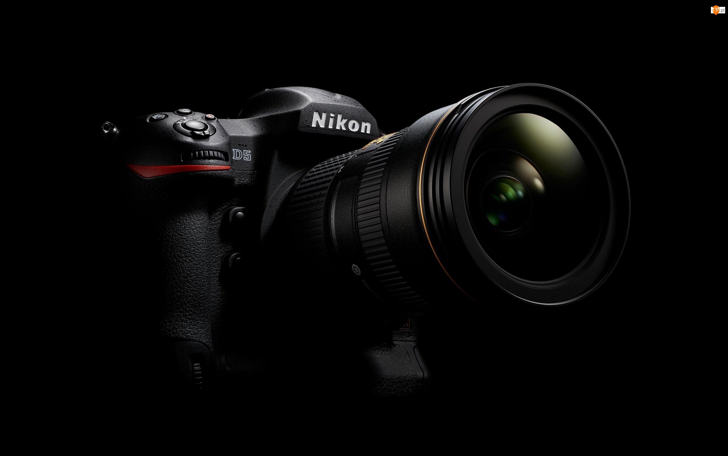 Aparat, Nikon D5, Cyfrowy, Lustrzanka