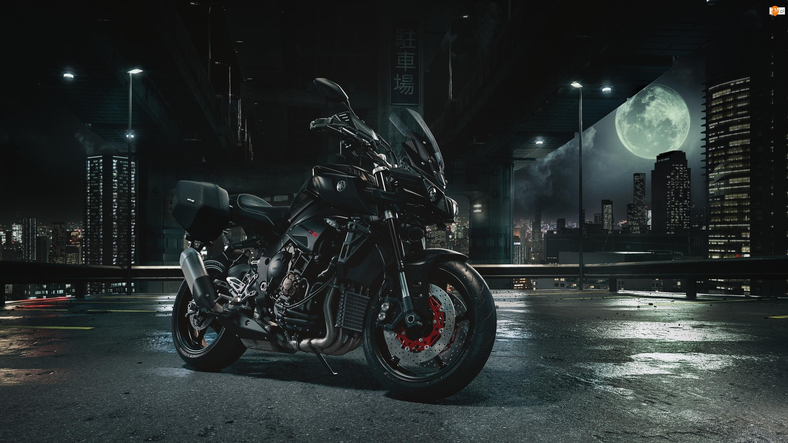 2017, Motocykl, Yamaha MT-10 Tourer Edition